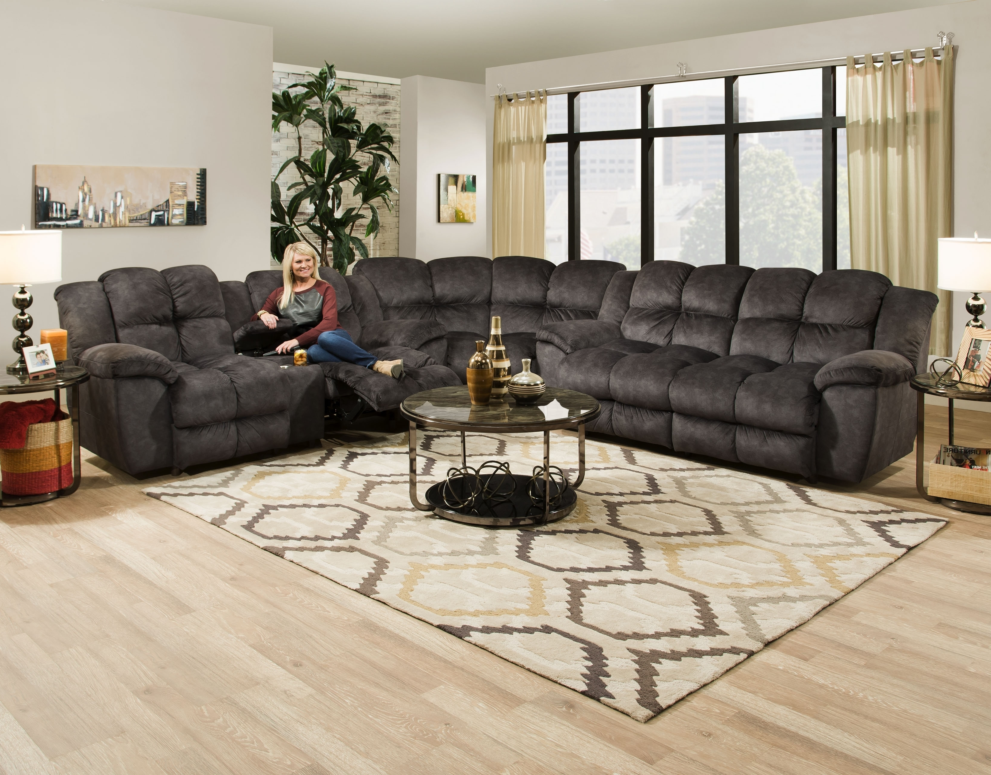 Reclining Sectionals With Chaise Regarding Recent Sectionals – Mcgregors Furniture (View 9 of 15)