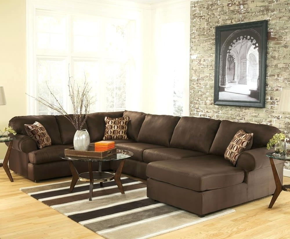 Reclining U Shaped Sectionals In Favorite U Shaped Sectional Sofa L Broken White Leather With Recliner And (View 8 of 15)