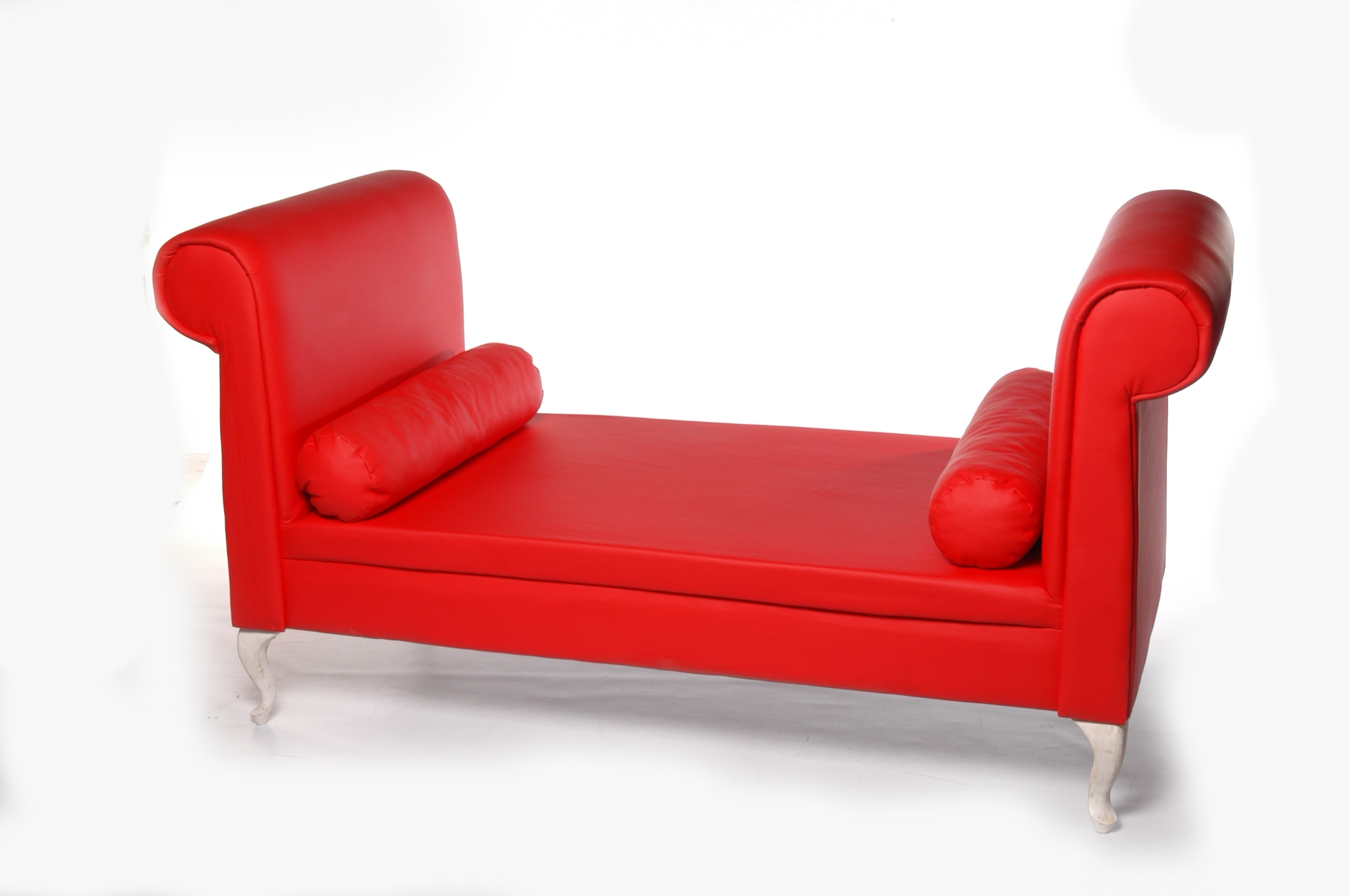 Red Leather Chaises Within Best And Newest Really Exotic Designs And Decoration Red Chaise Lounge In The (View 7 of 15)