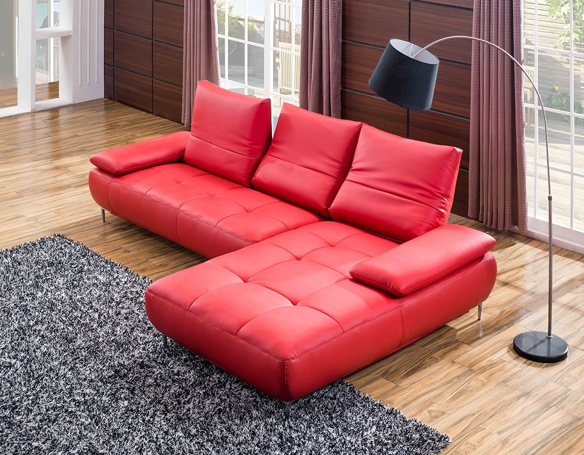 Red Leather Couches And Loveseats Inside Favorite Sofa : Red Leather Furniture Pet Bed Couch Red Couch Sectional (View 10 of 15)