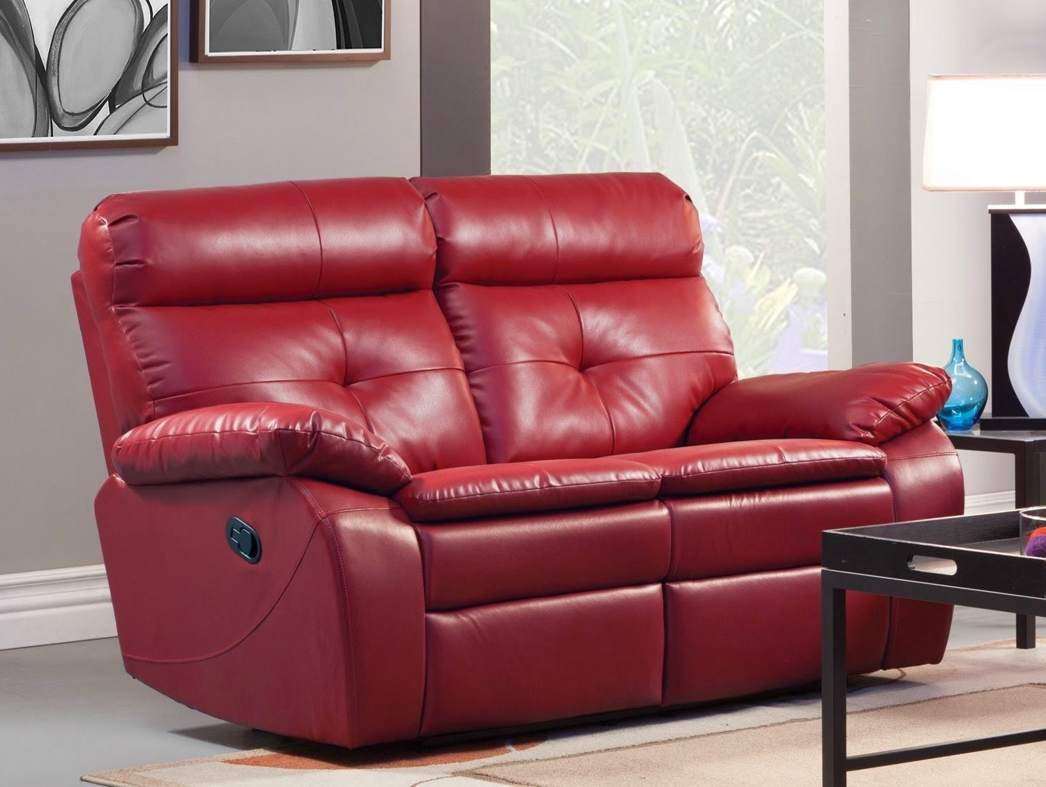 Red Leather Reclining Sofas And Loveseats Throughout Most Recent The Best Reclining Sofa Reviews: Red Leather Reclining Sofa And (View 7 of 15)