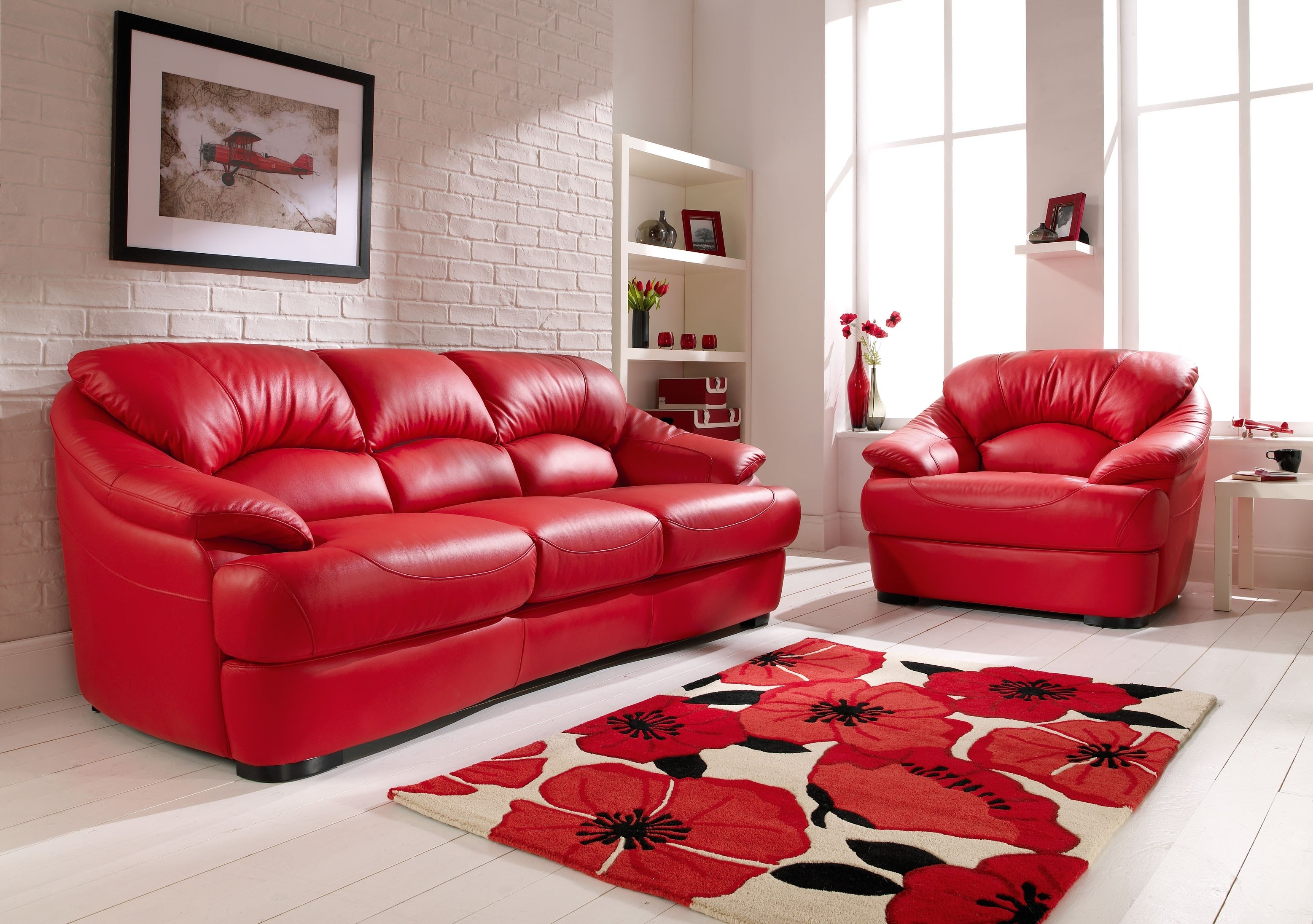 Red Leather Sofas With Regard To Recent Red Leather Sofa – Youtube (View 8 of 15)