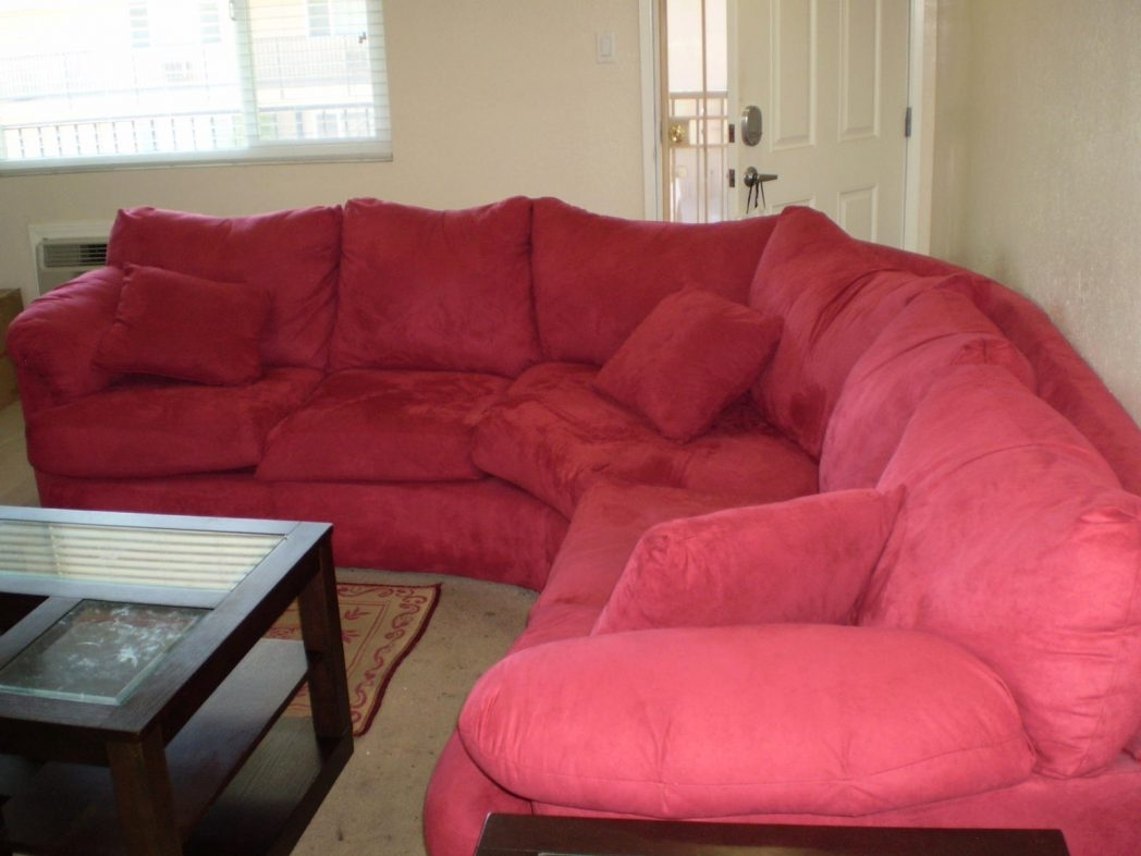 Red Sectional Sofas Furniture Charming Couches With Cushions For Within Newest Red Sectional Sofas With Ottoman (View 11 of 15)