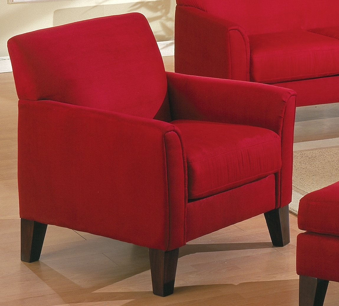 Red Sofa Chairs With Regard To Fashionable Red Sofas And Chairs 53 With Red Sofas And Chairs (View 11 of 15)