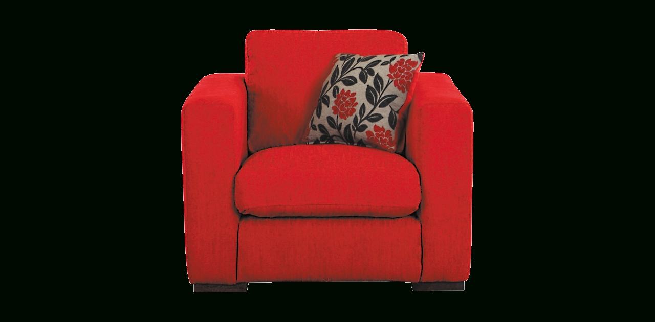 Featured Photo of Red Sofa Chairs
