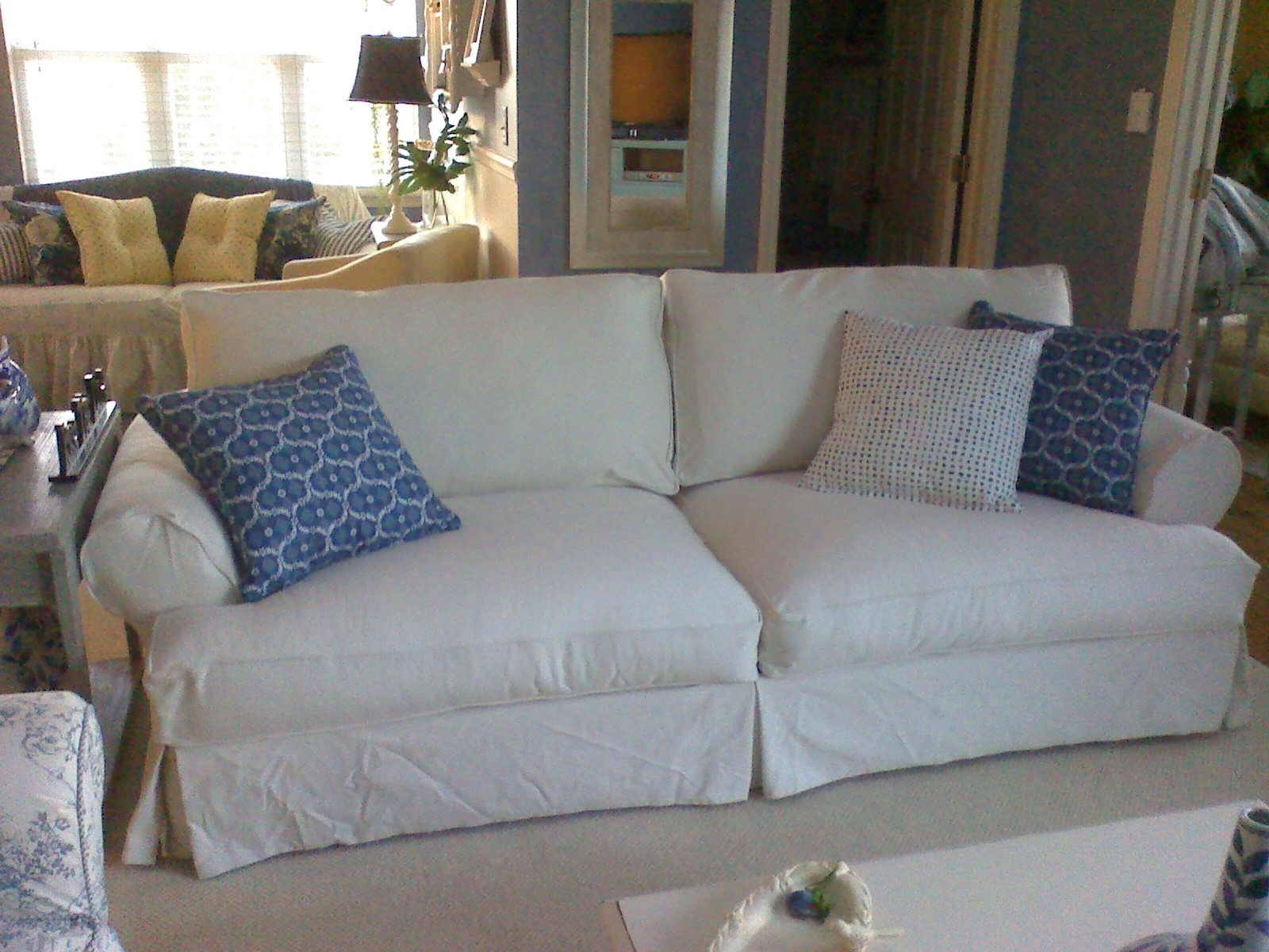 Replacement Slipcover Outlet  Replacement Slipcovers For Famous In Most Recent Slipcovers Sofas (View 6 of 15)