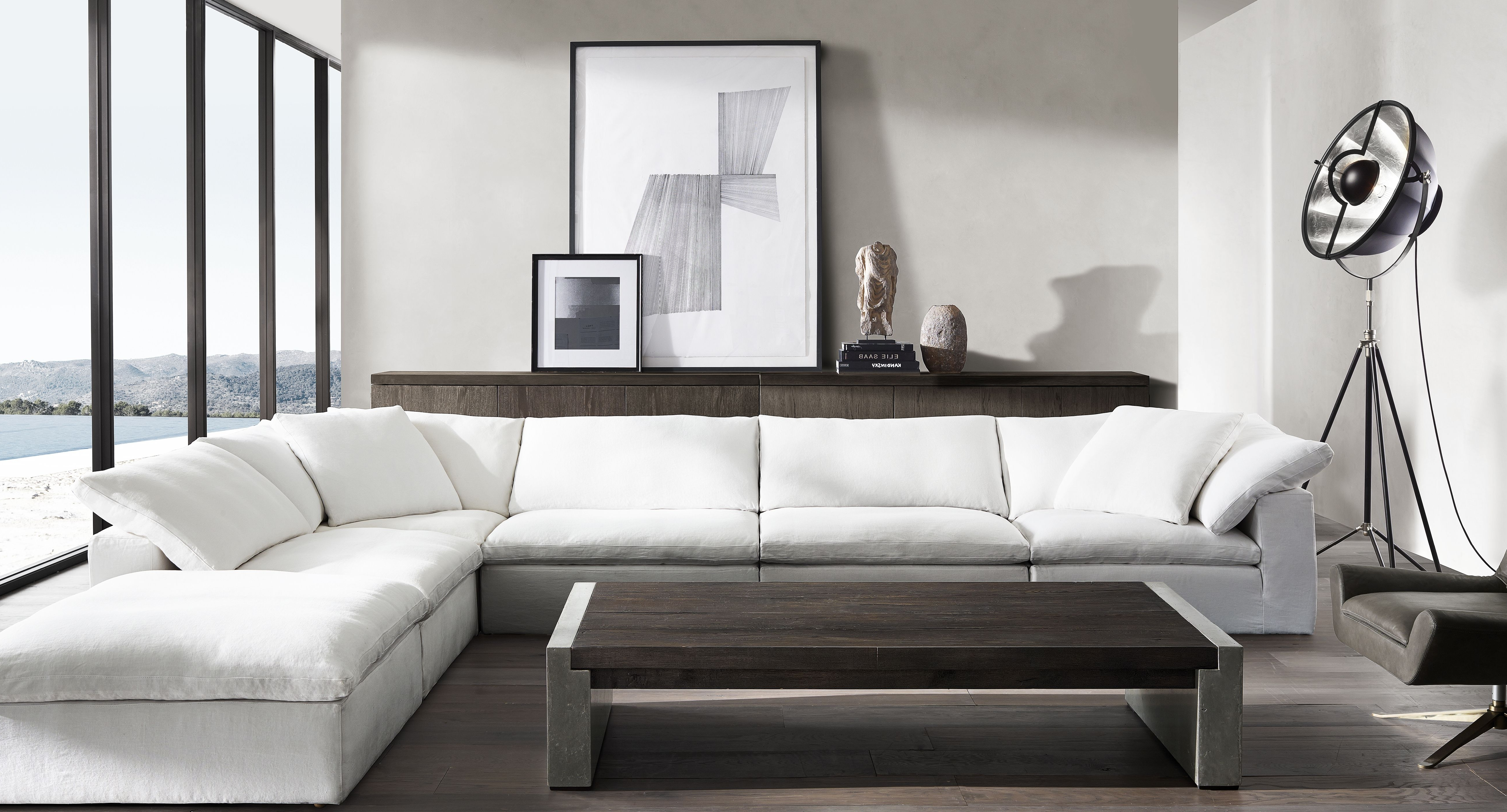 Restoration Hardware Sectional Sofas With Widely Used Everything Kendall Jenner Is Buying For Her New House, Including A (View 11 of 15)
