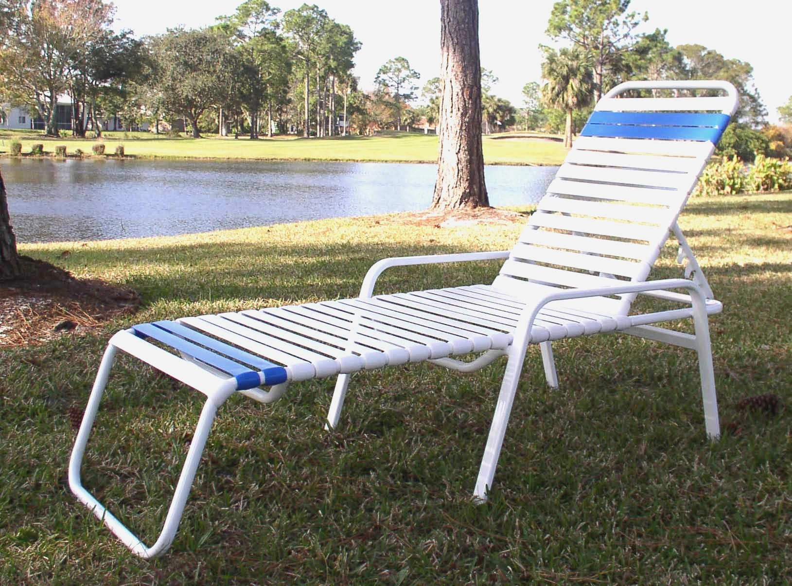 Restrapping Patio Chairs Beautiful Vinyl Restrapping Your Atlanta Throughout 2018 Atlanta Chaise Lounge Chairs (View 4 of 15)