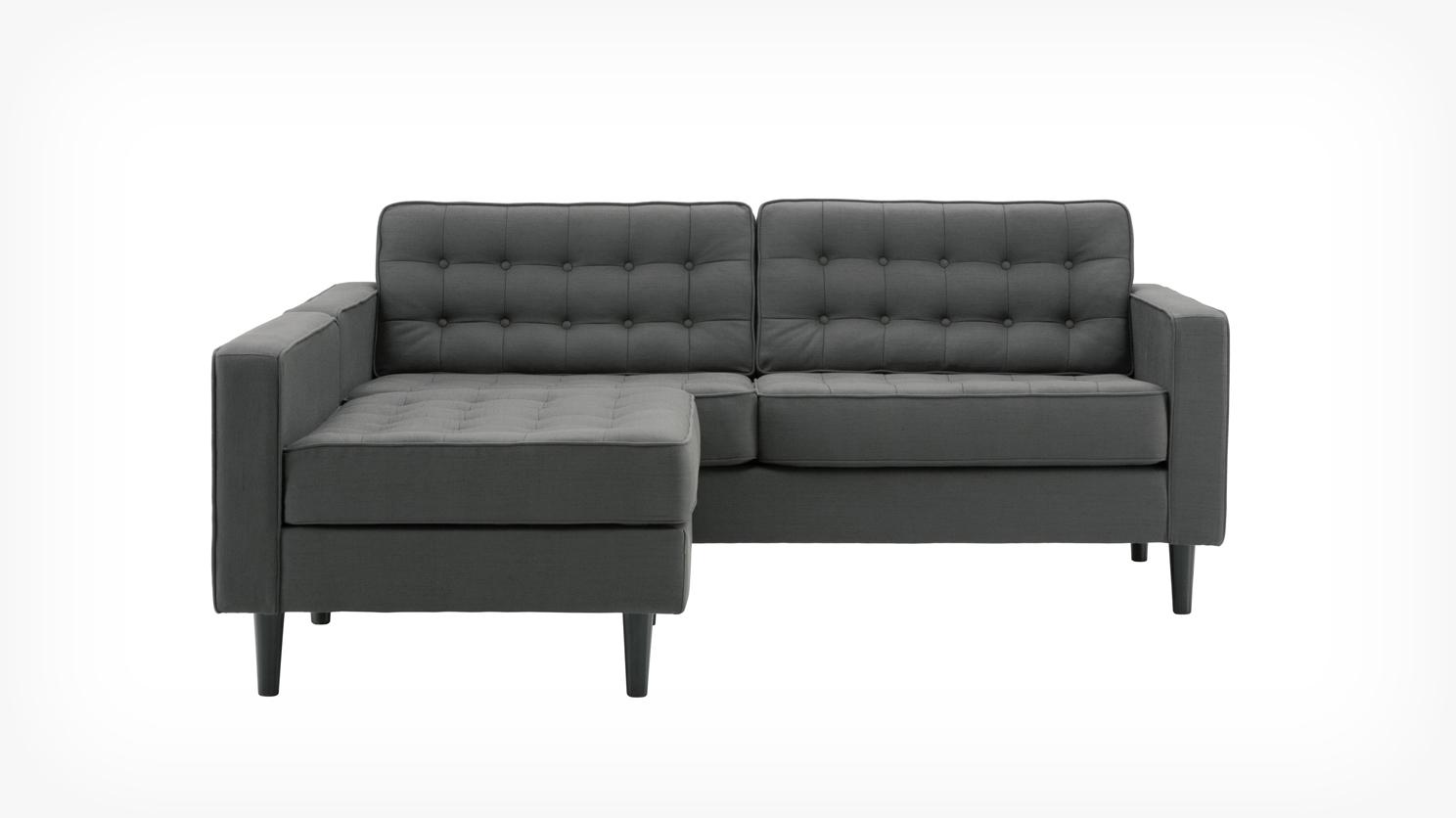 Reverie Apartment 2 Piece Sectional Sofa With Chaise – Fabric (View 6 of 15)