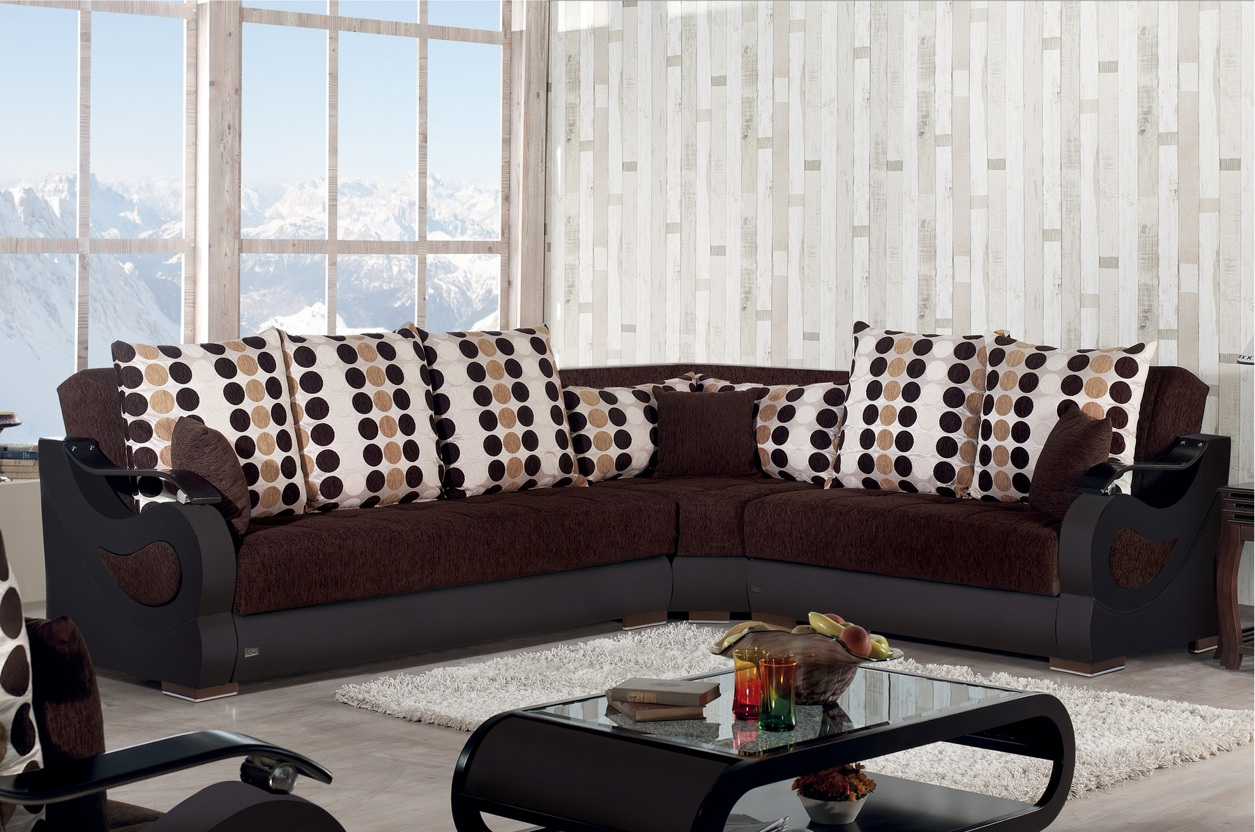 Richmond Sectional Sofa Richmond Meyan Furniture Sectional Sofas Intended For Well Known Richmond Sofas (View 7 of 15)