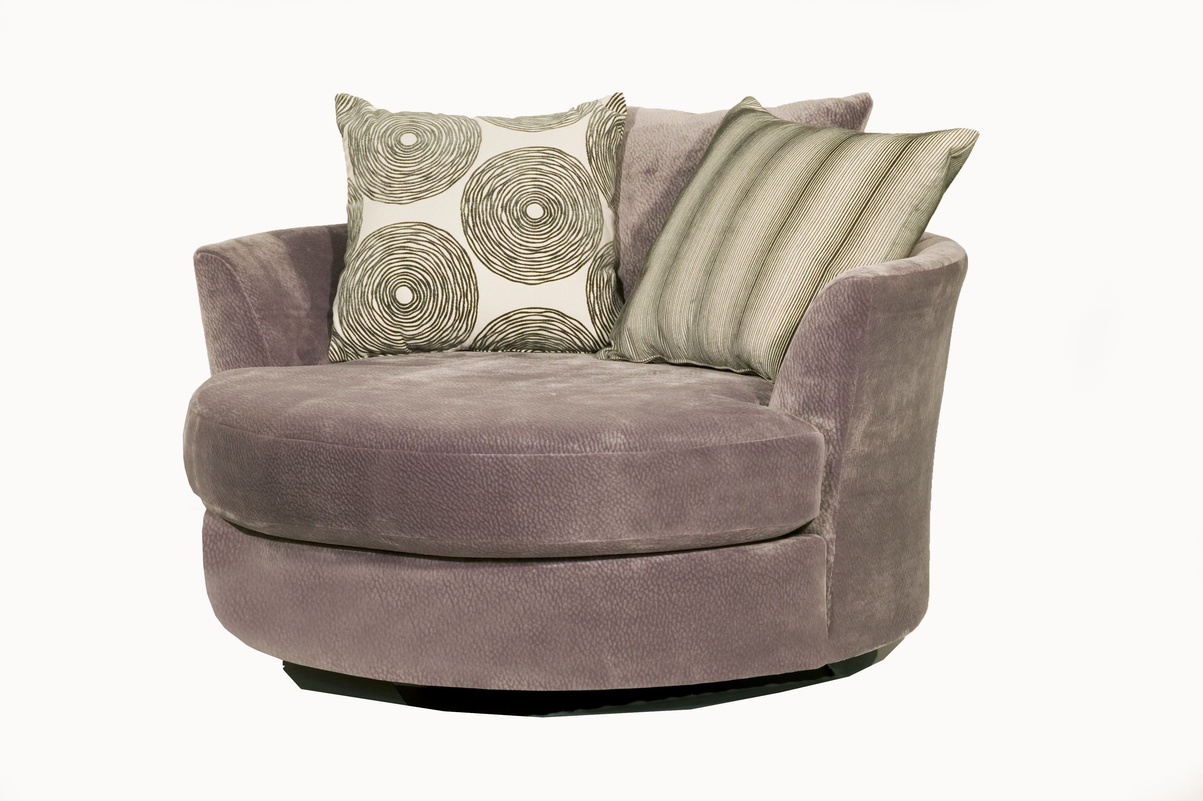Robert Michael 9645 Cuddler Swivel Chair With Most Up To Date Cuddler Swivel Sofa Chairs (View 7 of 15)