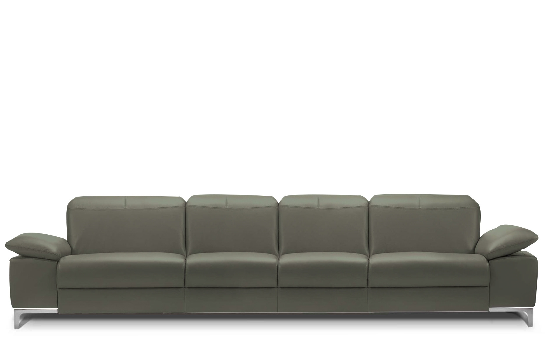 Rom Chronos 4 Seater Leather Sofa (View 2 of 15)