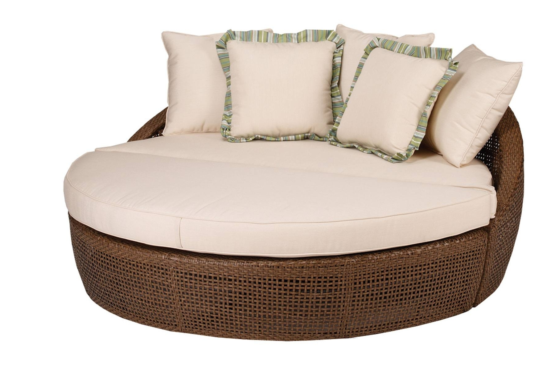 Round Chaises With Regard To Recent Outstanding Round Chaise Lounge Designs – Decofurnish (View 13 of 15)