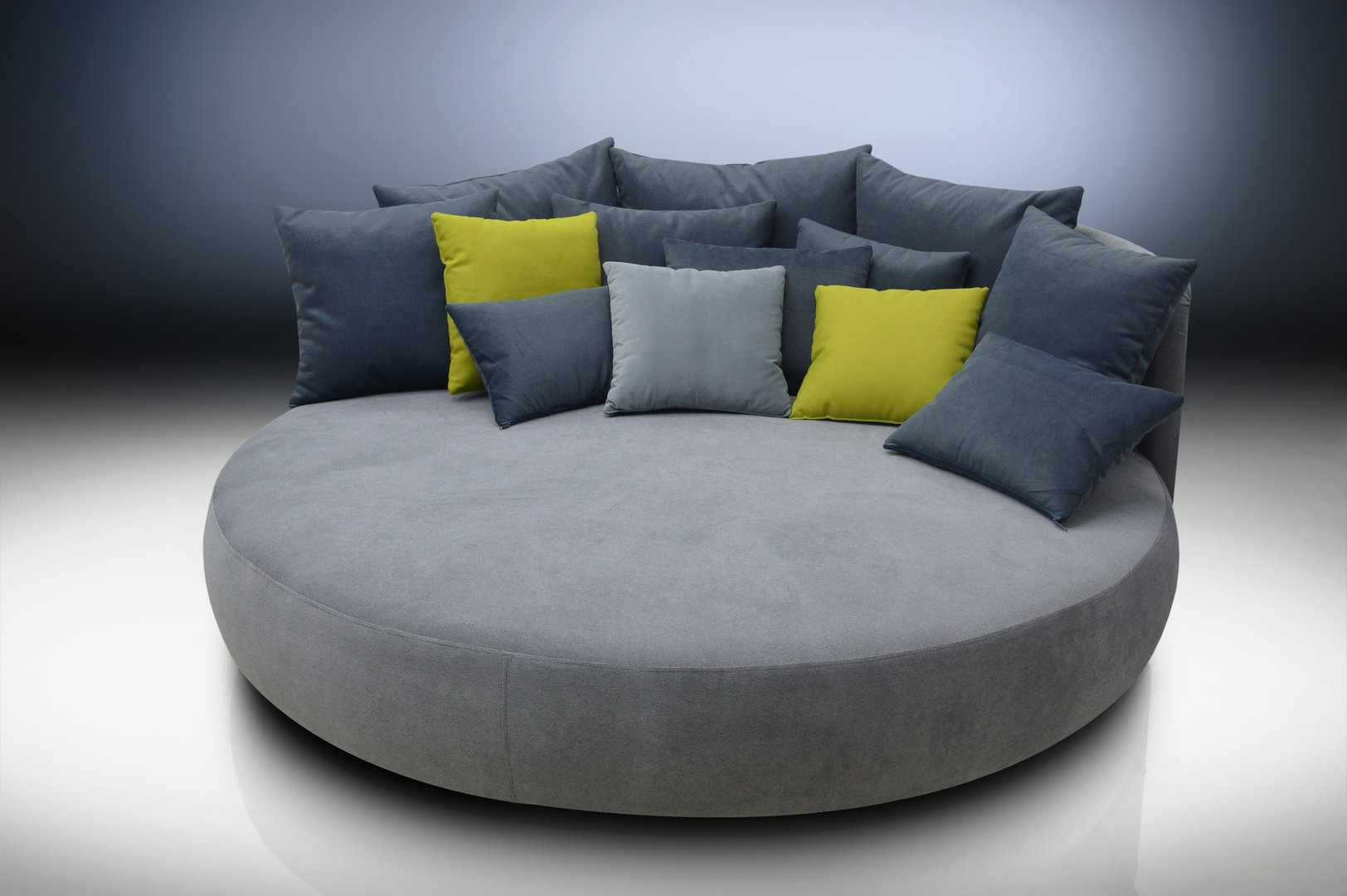 Round Sofas For Most Current Sofa : Sofa Chair Round Elegant Sofa Half Round Sofa Sofas Round (View 7 of 15)