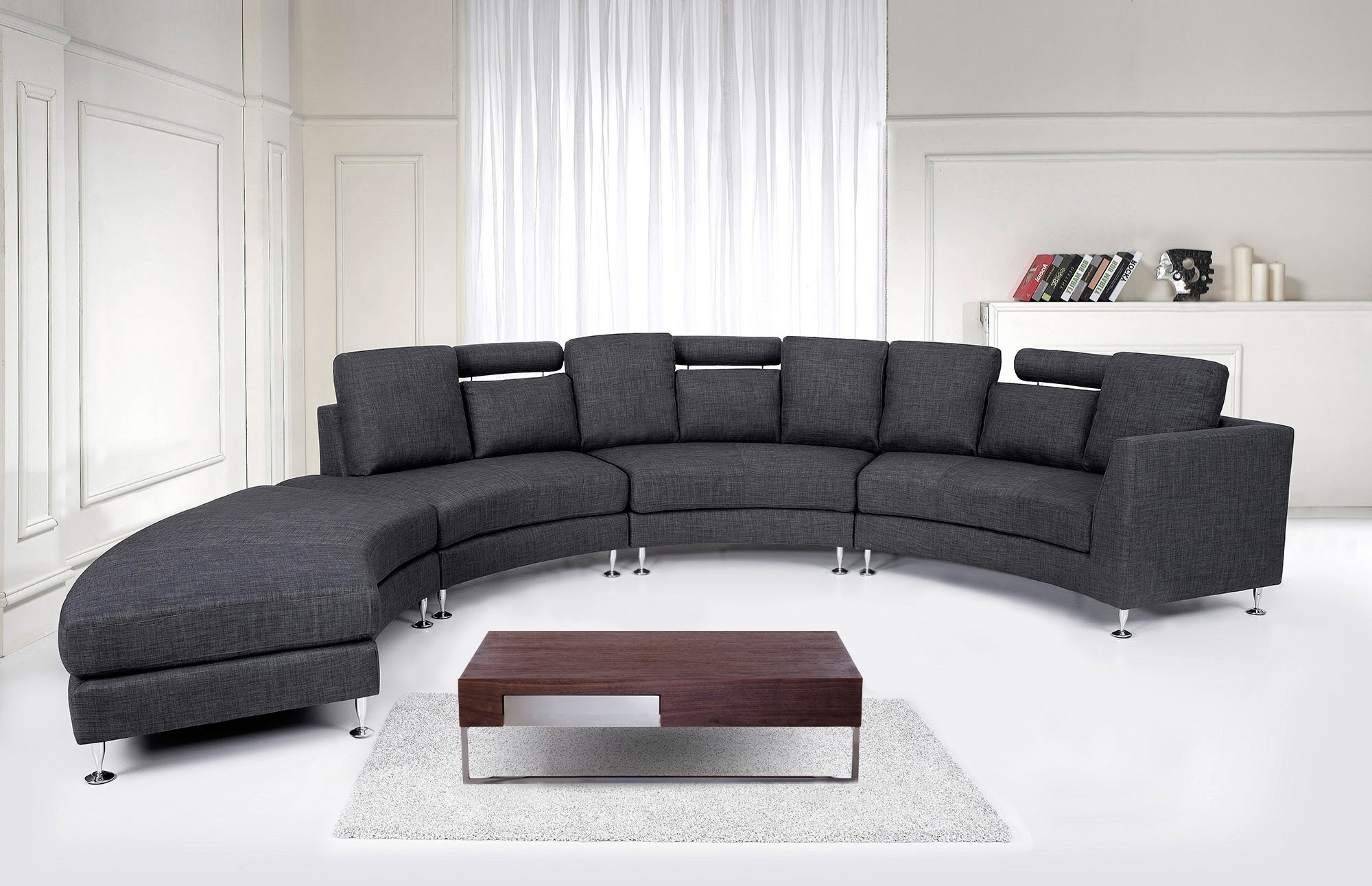Round Sofas With Regard To Fashionable Round Sofa (View 9 of 15)
