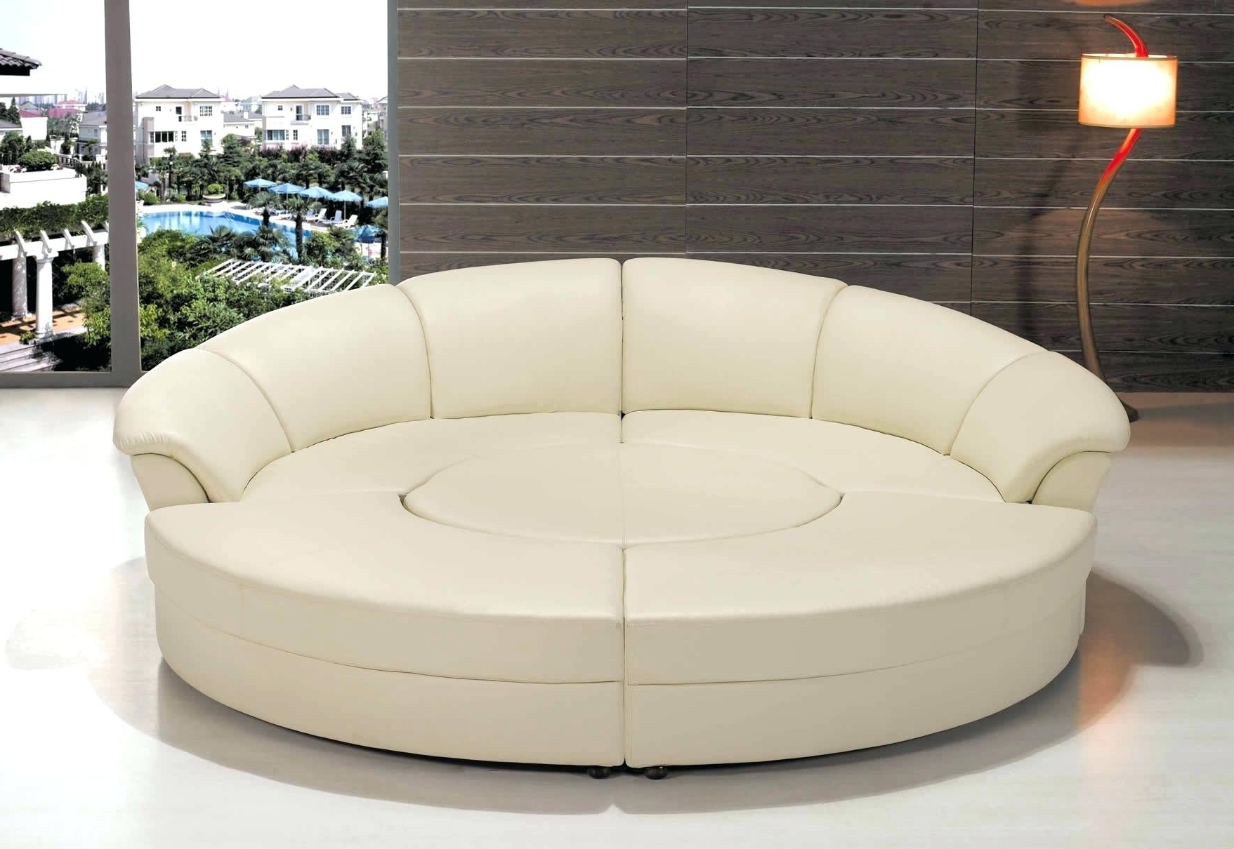 Rounded Sofas Regarding Well Known Furniture : Round Sectional Sofa Covers New Round Sofa Covers (View 4 of 15)