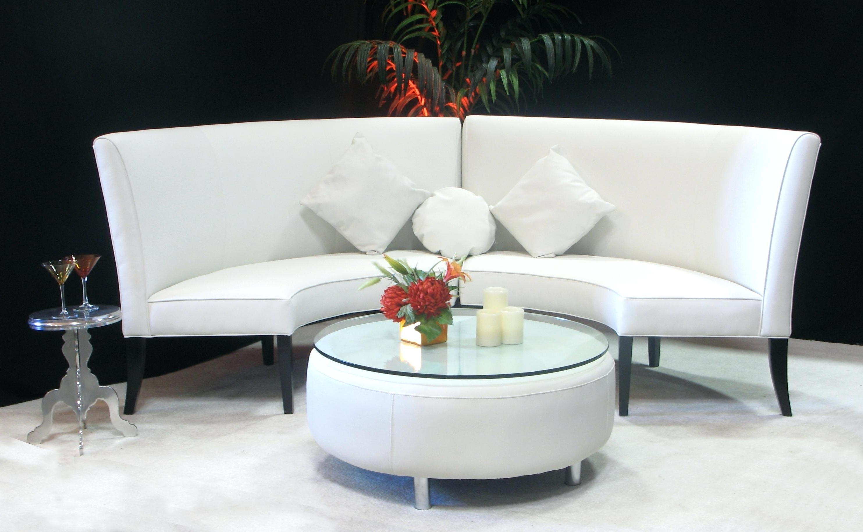 Rounded Sofas With Recent Rounded Sofa Maze Rattan Set Round Chair Canada – Kattenbroek (View 6 of 15)