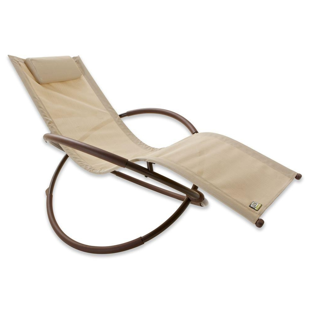 Rst Brands Orbital Sling Patio Lounger Chaise In Green Op Ol04 Grn Intended For Best And Newest Orbit Chaise Lounges (View 12 of 15)