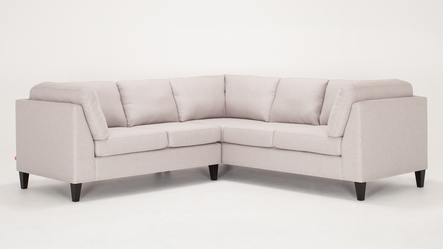 Salema 2 Piece Sectional Sofa – Fabric With Regard To Eq3 Sectional Sofas (View 5 of 15)
