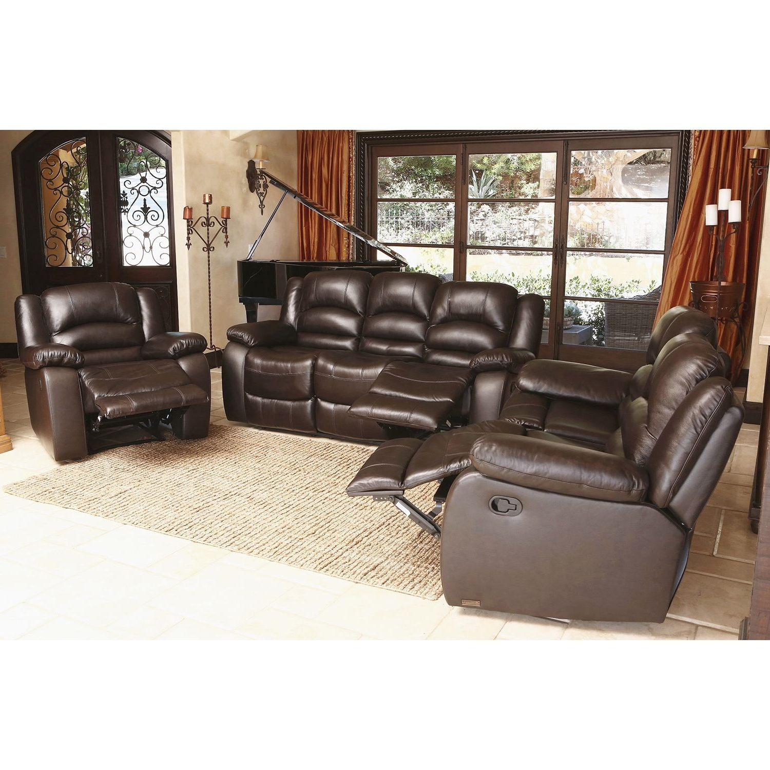 Sams Club Sectional Sofas Regarding Fashionable Genuine Leather Sectional Costco Living Room Furniture Top Grain (View 5 of 15)