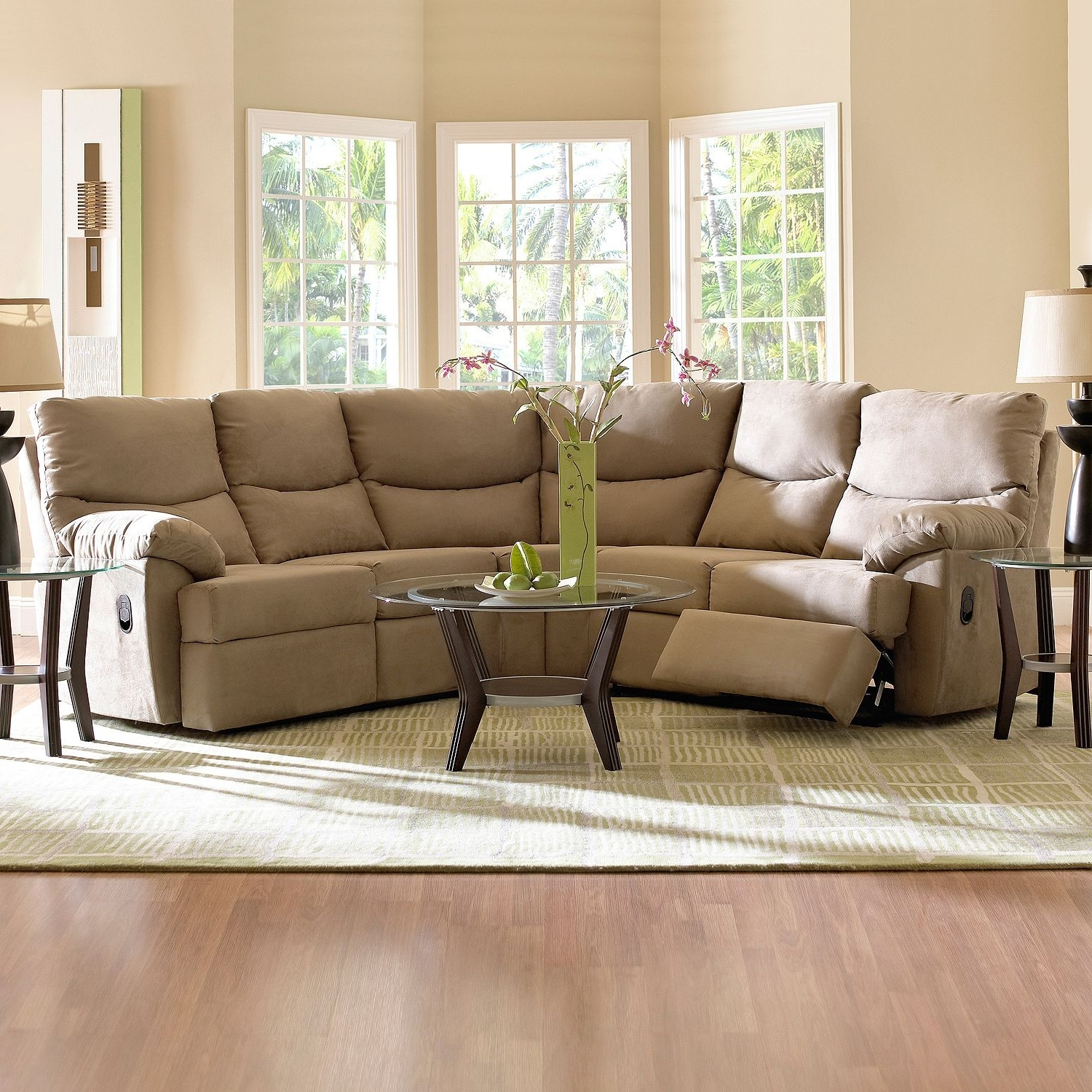 Sams Club Sectional Sofas Throughout Most Current Brantley Sectional – 2 Pc (View 4 of 15)