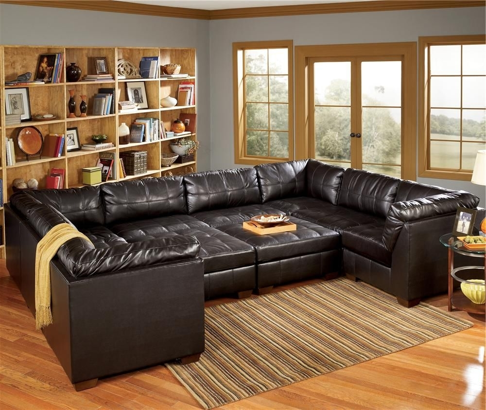 San Marco 10 Piece U Shaped Sectionalsignature Design Regarding Best And Newest Michigan Sectional Sofas (View 8 of 15)