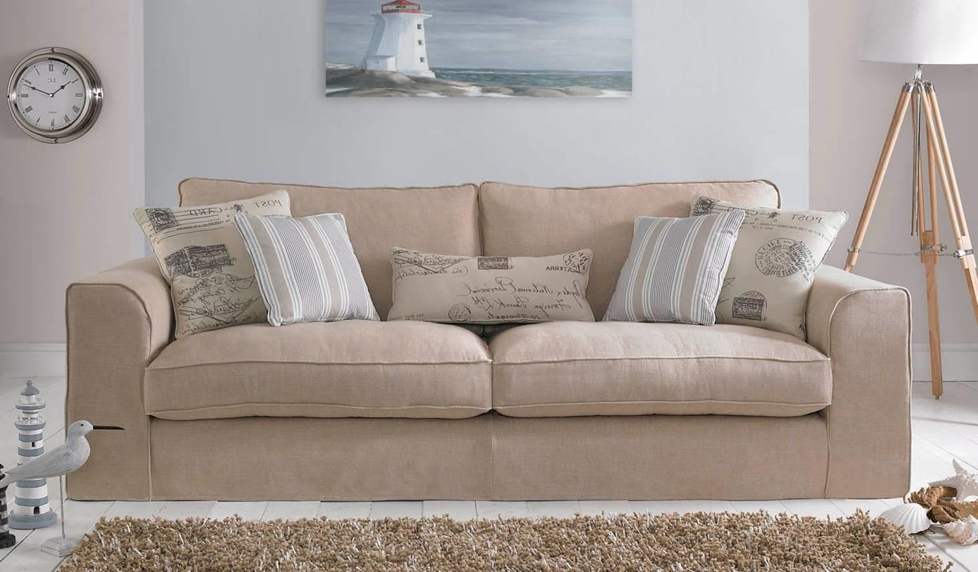 Saunton – 2 Seater Settee With Removable Covers : Orchards For Famous Sofas With Removable Covers (View 14 of 15)