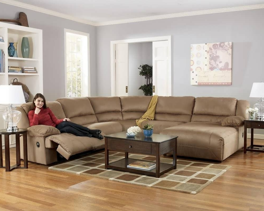 Sectional Couches With Recliner And Chaise Regarding Current Sofa : Sofas Grey Sectional Grey Sectional Couch Reclining (View 11 of 15)