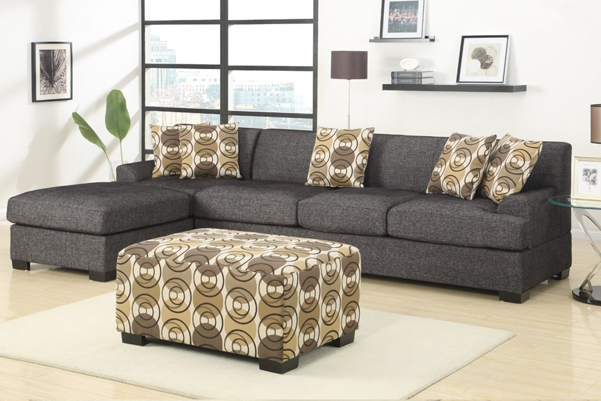 Sectional Large – Charcoal Within Current Charcoal Sectionals With Chaise (View 12 of 15)