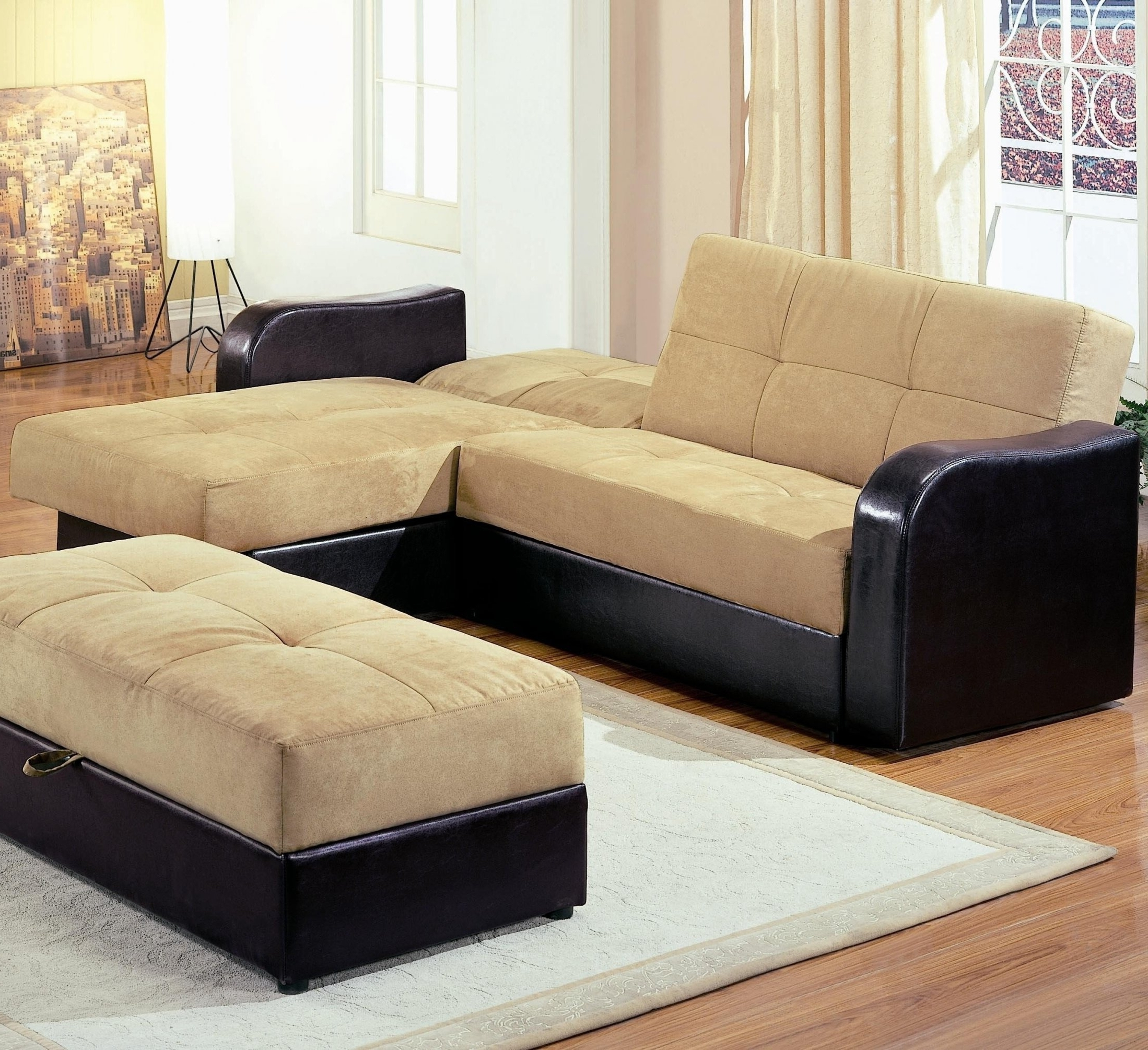 Sectional Sleeper Sofa With Ottoman with Current Sectional Sleeper Sofas With Ottoman