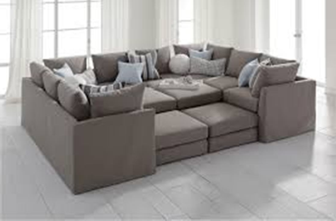 Sectional Sofa : Deep Seated Sectional Furniture Sectional Couch For Most Recently Released Deep Seating Sectional Sofas (View 13 of 15)