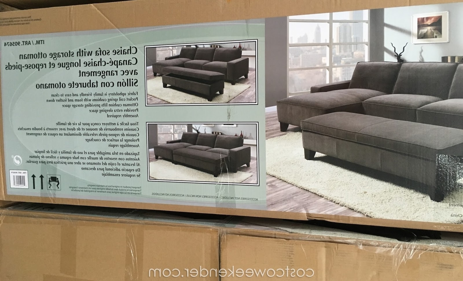 Sectional Sofa Design: Elegant Sectional Sofa With Chaise Costco In 2018 Costco Chaises (View 14 of 15)