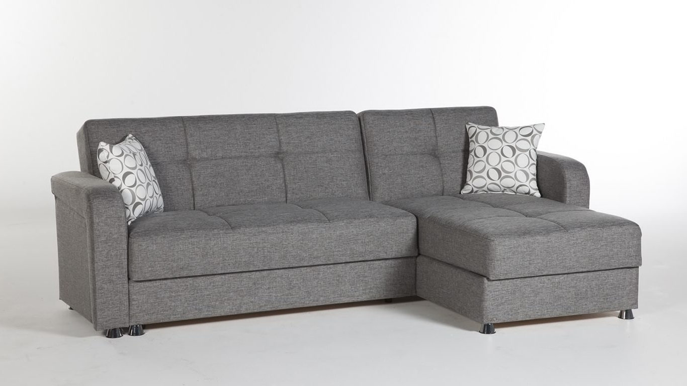 Sectional Sofa Design: Sleeper Sectional Sofas Small Spaces Chaise Pertaining To Well Known Sectional Sofas With Sleeper (View 11 of 15)