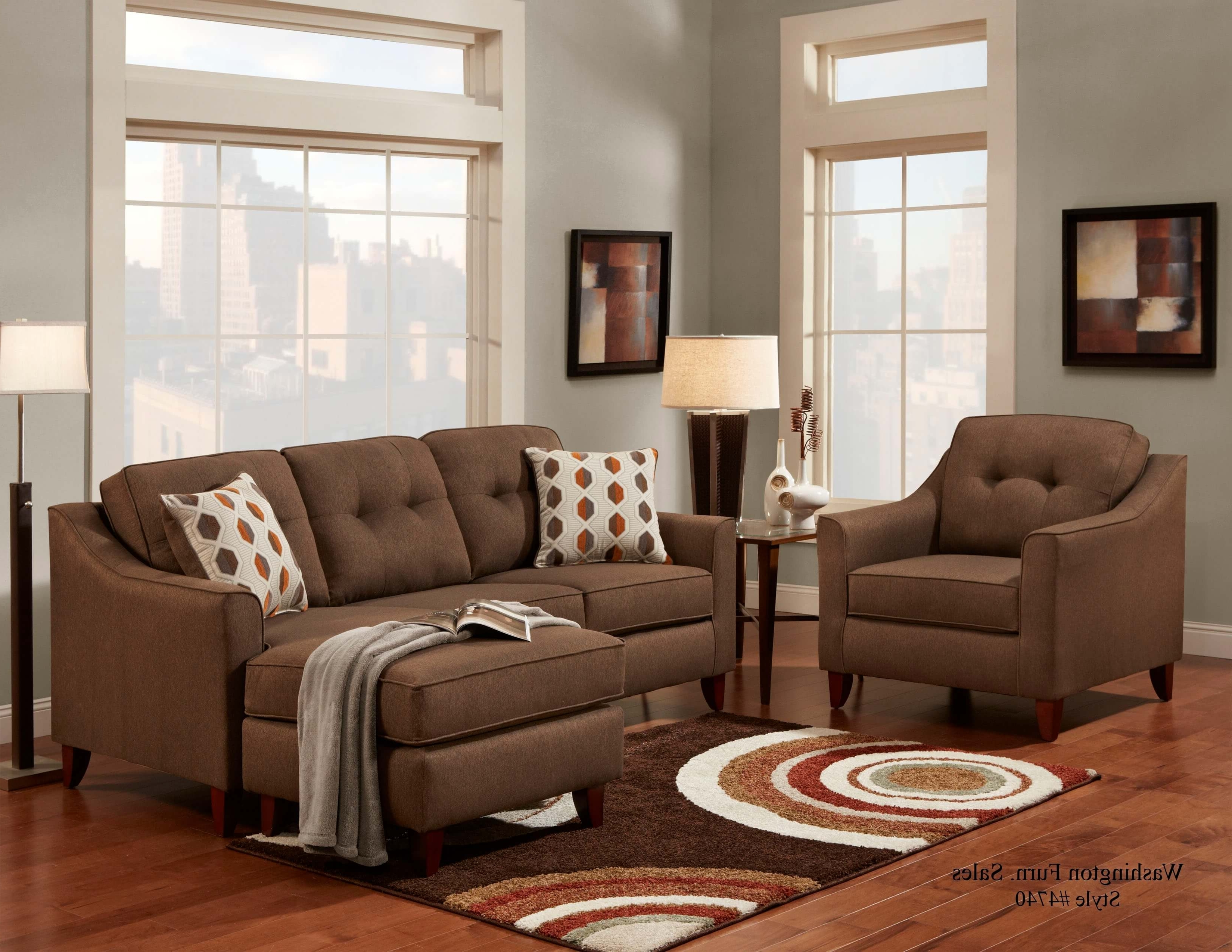 Sectional Sofa Sets Within Trendy Chocolate Sectional Sofas (View 5 of 15)