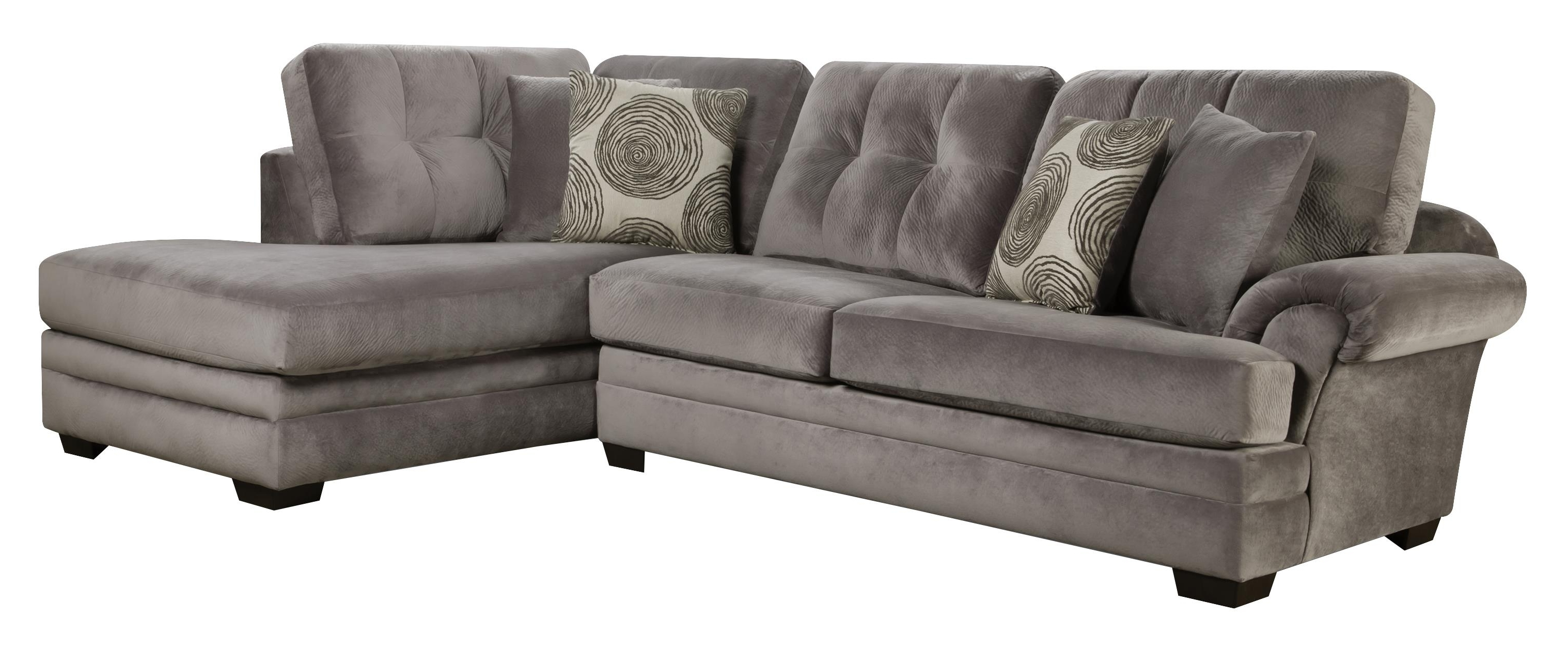Sectional Sofa With Chaise (On Right Side)Corinthian (View 10 of 15)