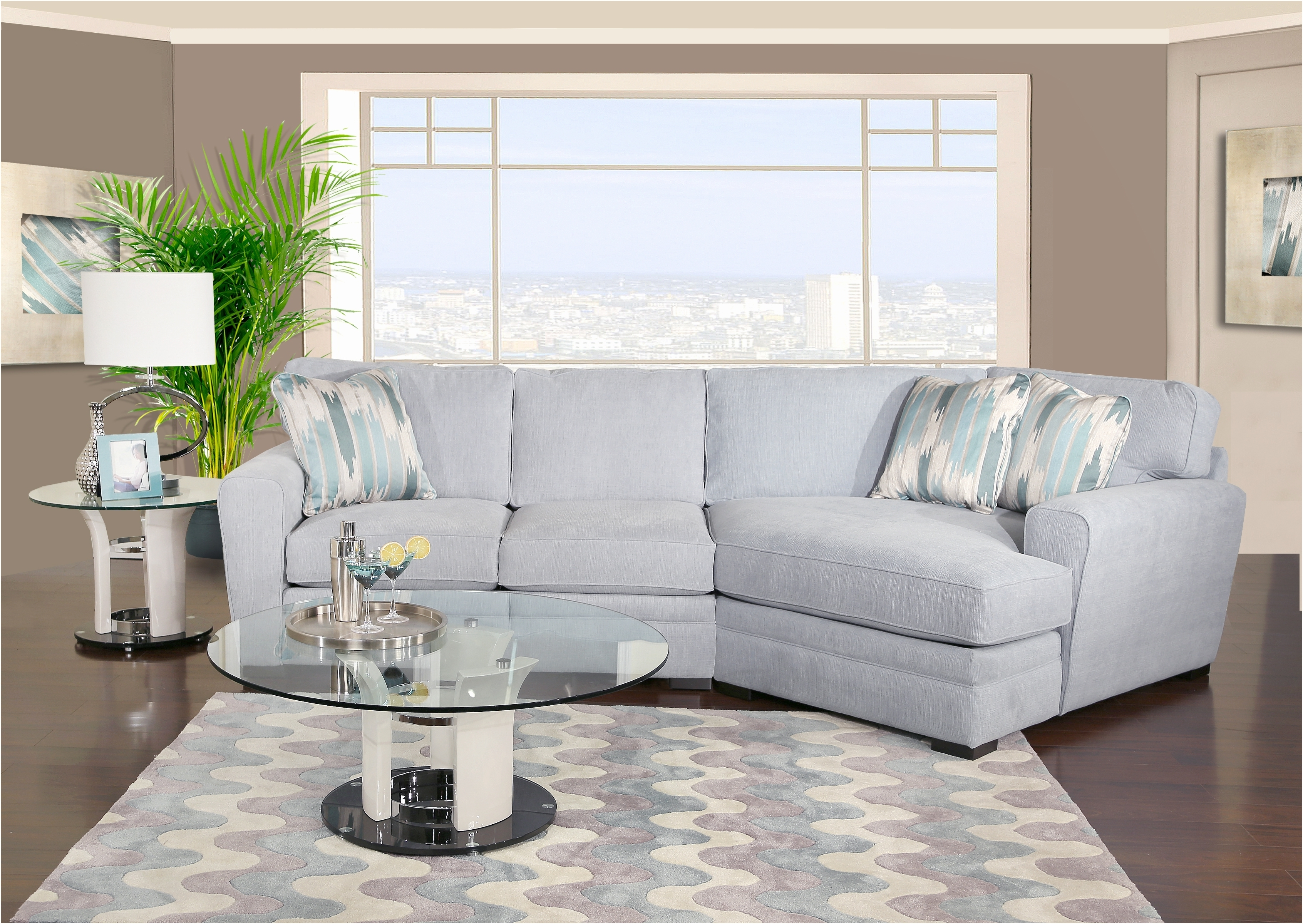 Sectional Sofa With Cuddler Chaise (View 7 of 15)