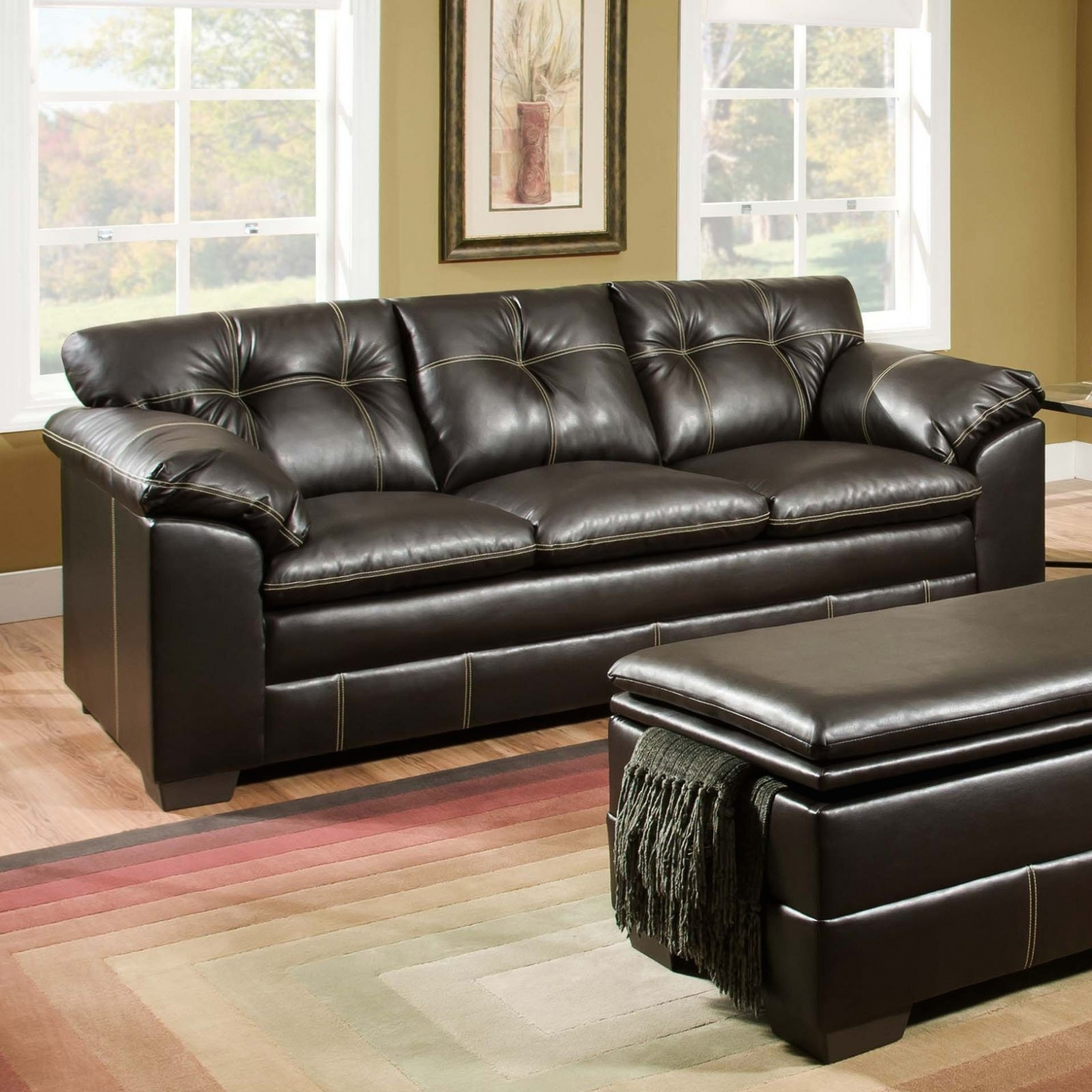Sectional Sofas At Big Lots In Newest Furniture: Sofas : Fabulous Leather Loveseat Recliner Sectional (View 11 of 15)