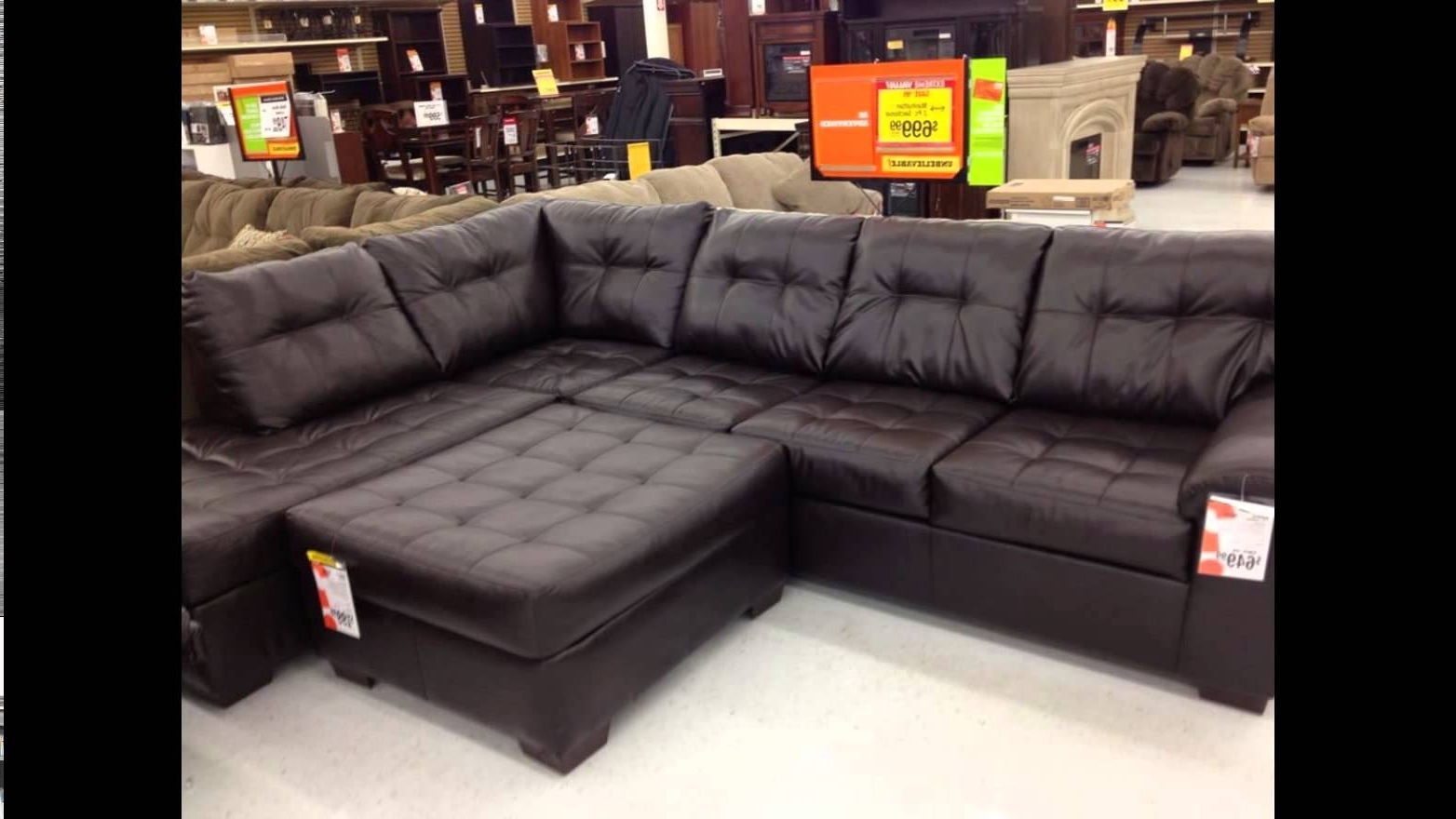 Sectional Sofas At Big Lots Inside Most Up To Date Big Lots Furniture  Big Lots Furniture Sale – Youtube (View 10 of 15)