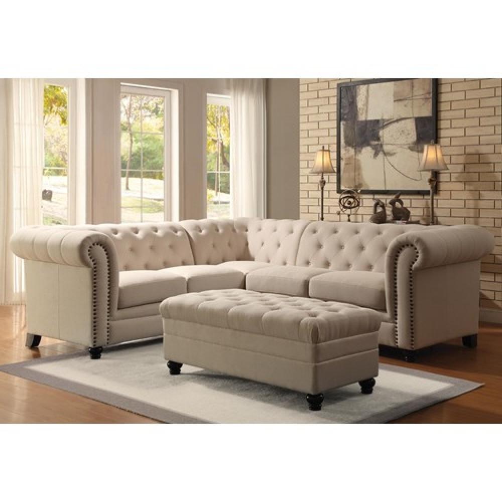 Sectional Sofas At Brampton Throughout Favorite Furniture : Klaussner Leather Sectional Sofa Sofa Orlando Allegro (View 12 of 15)