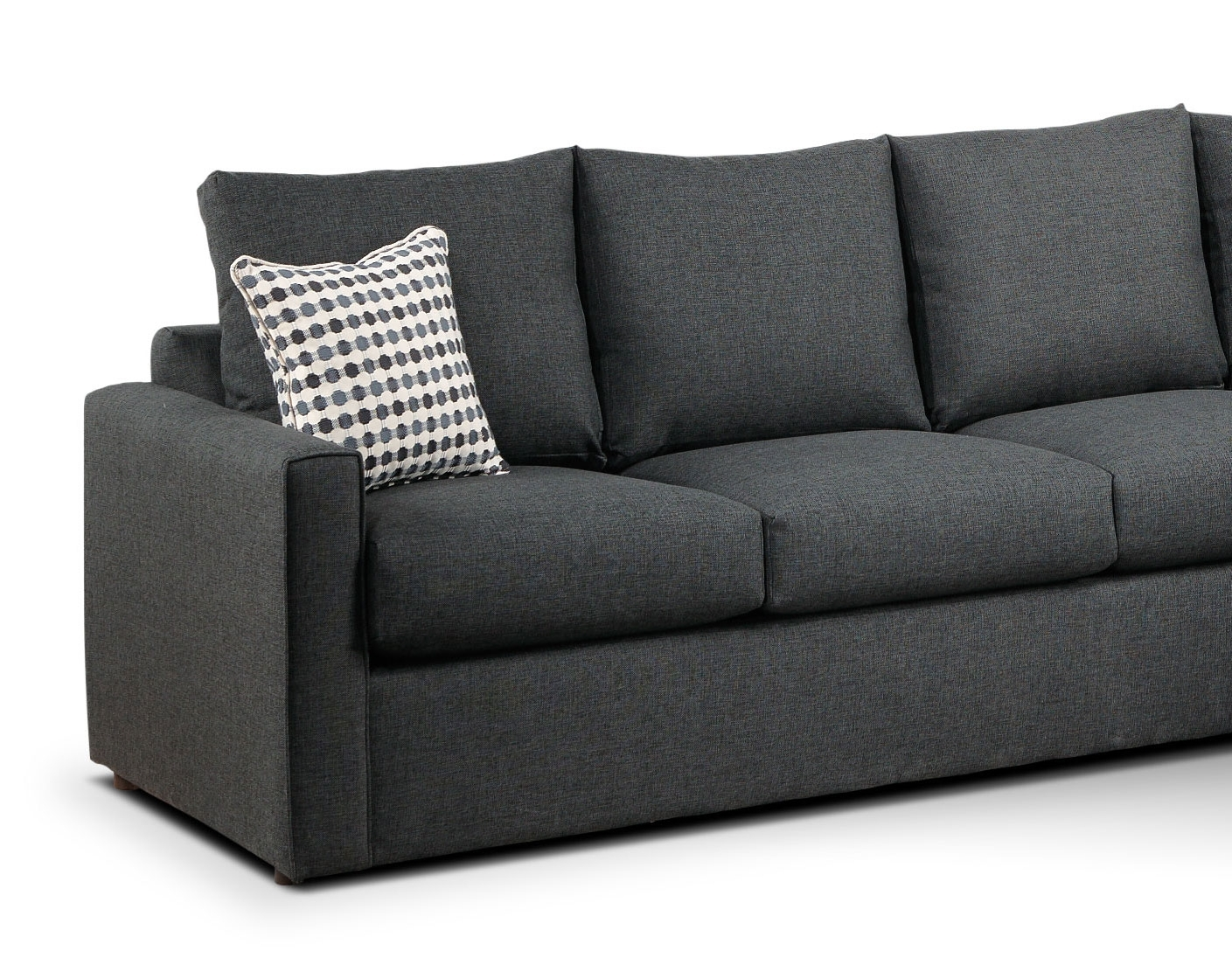Sectional Sofas At Calgary Throughout Most Recent Athina 2 Piece Sectional With Right Facing Queen Sofa Bed (View 11 of 15)