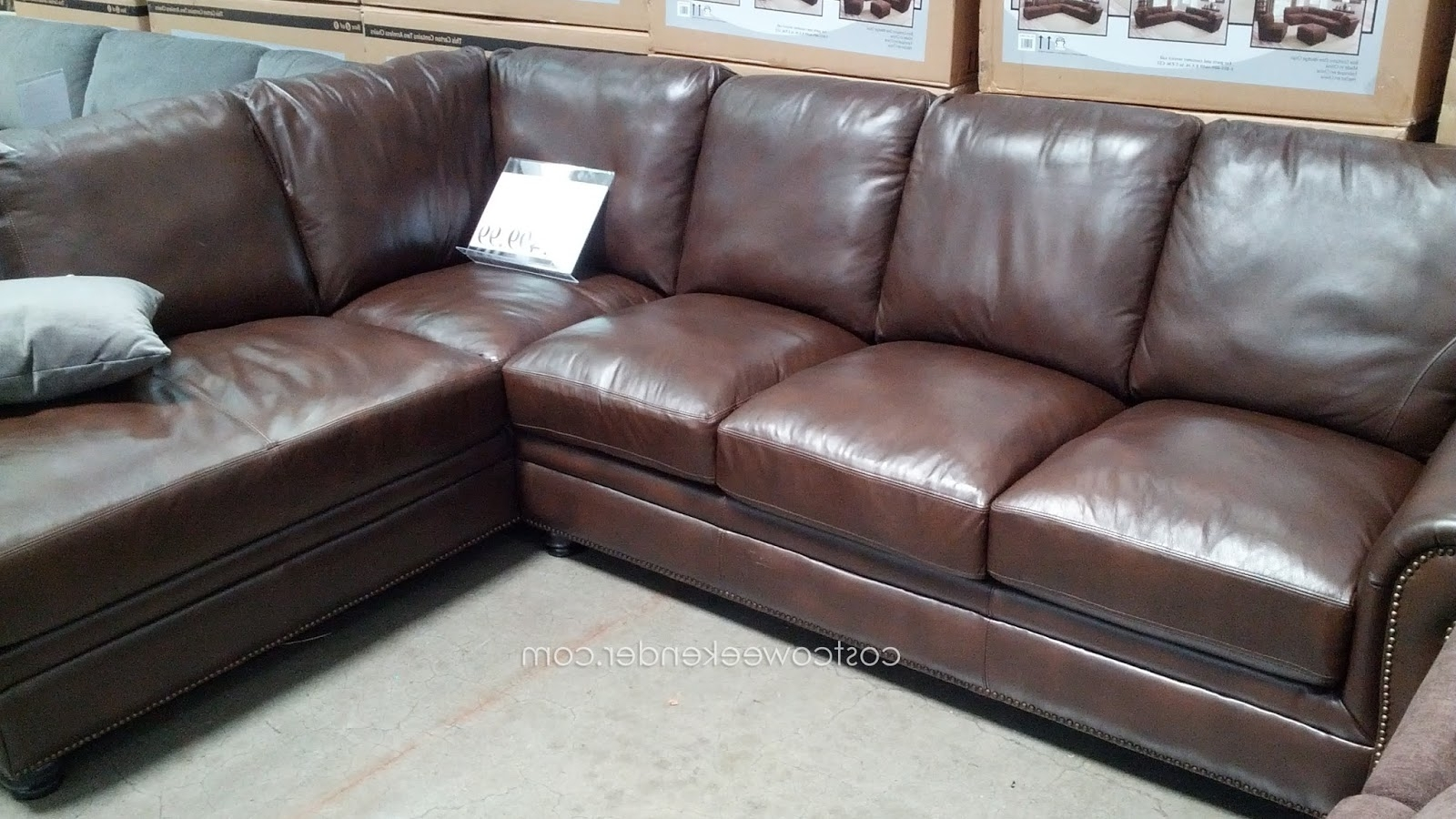 Sectional Sofas At Costco Intended For Most Recently Released Sectional Sofa Design: Costco Sectional Sofas Best Ever Leather (View 10 of 15)