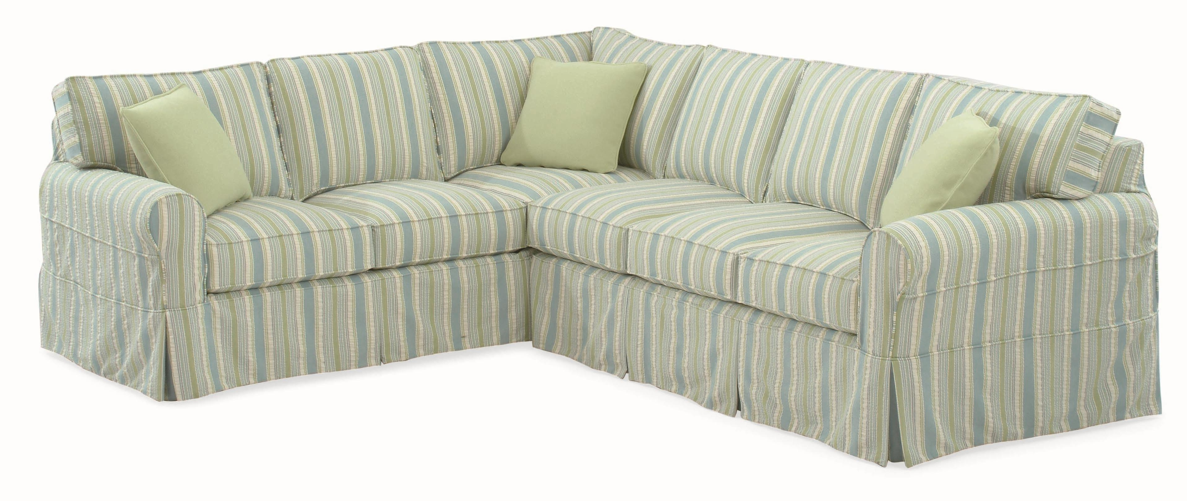 Sectional Sofas At Havertys Throughout Well Known Braxton Culler 728 Casual Sectional Sofa With Rolled Arms And (View 11 of 15)