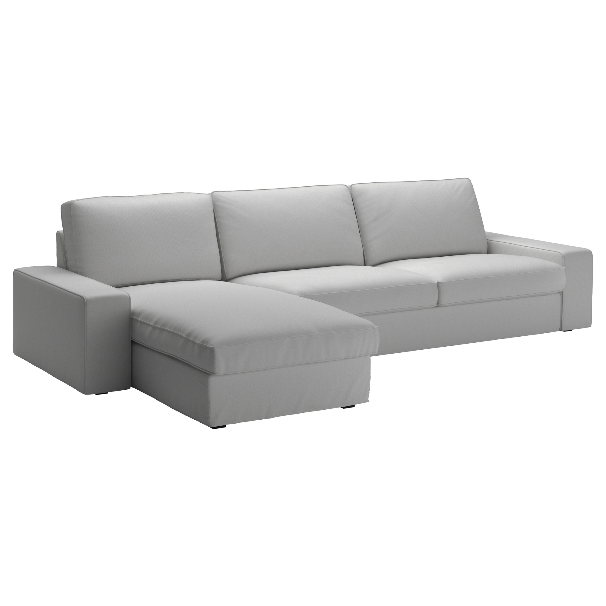 Sectional Sofas At Ikea In Well Known Kivik Sectional, 4 Seat – Orrsta Light Gray – Ikea (View 3 of 15)