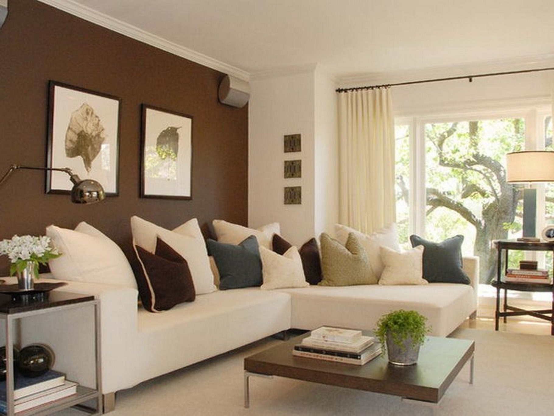 Sectional Sofas Decorating With Regard To Famous Living Room: Modern, Classic And Chic For Living Room Ideas With (View 11 of 15)