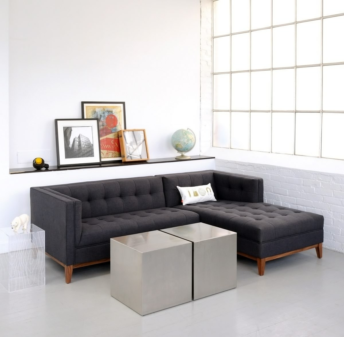 Sectional Sofas For Condos Regarding Most Popular Sectional Sofa Design: Apartment Size Sectional Sofa Bed Chaise (View 9 of 15)