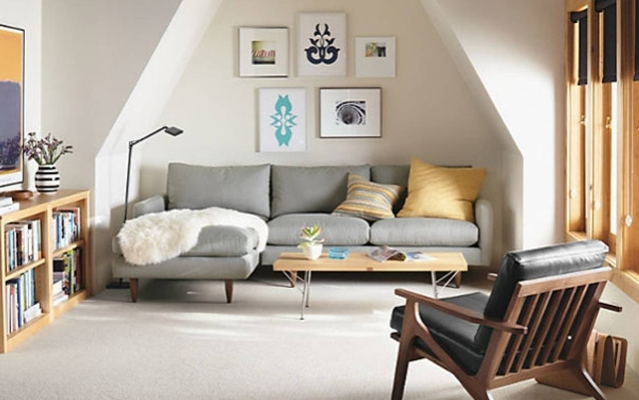 Sectional Sofas For Small Places Within Well Liked Heavenly Sectional Sofa In Small Space For Decorating Spaces Ideas (View 8 of 15)