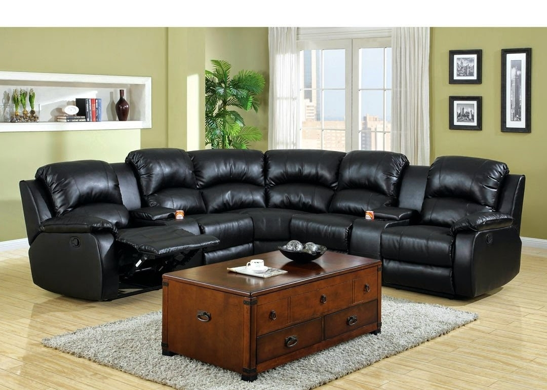 Sectional Sofas With Consoles Regarding Most Popular Modern Cheap Reclining Sofa Reviews: Reclining Sofa With Center (View 14 of 15)