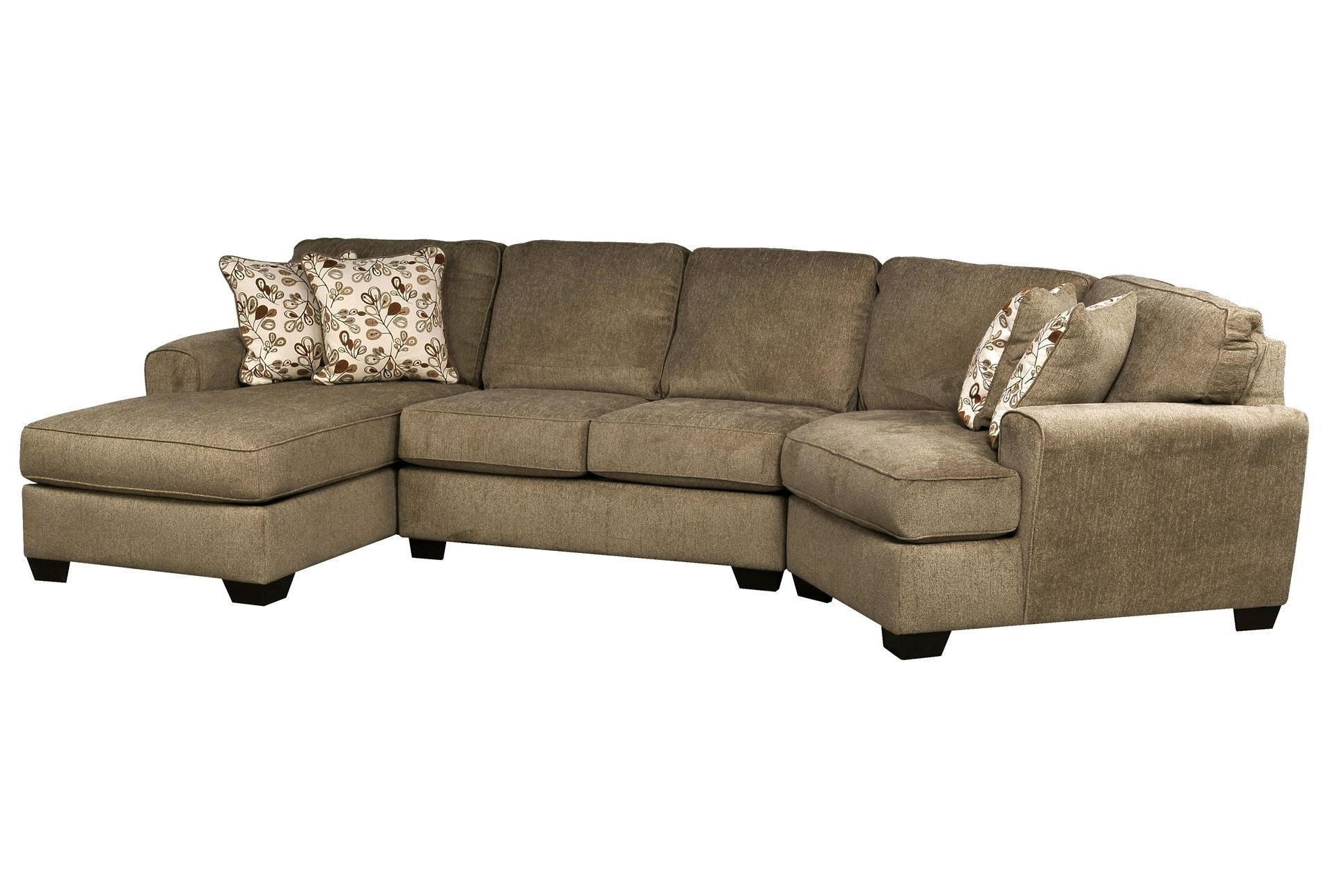 Sectional Sofas With Cuddler Chaise Inside Most Recent Don't Love The Color, But The Shape Is Great! (View 7 of 15)