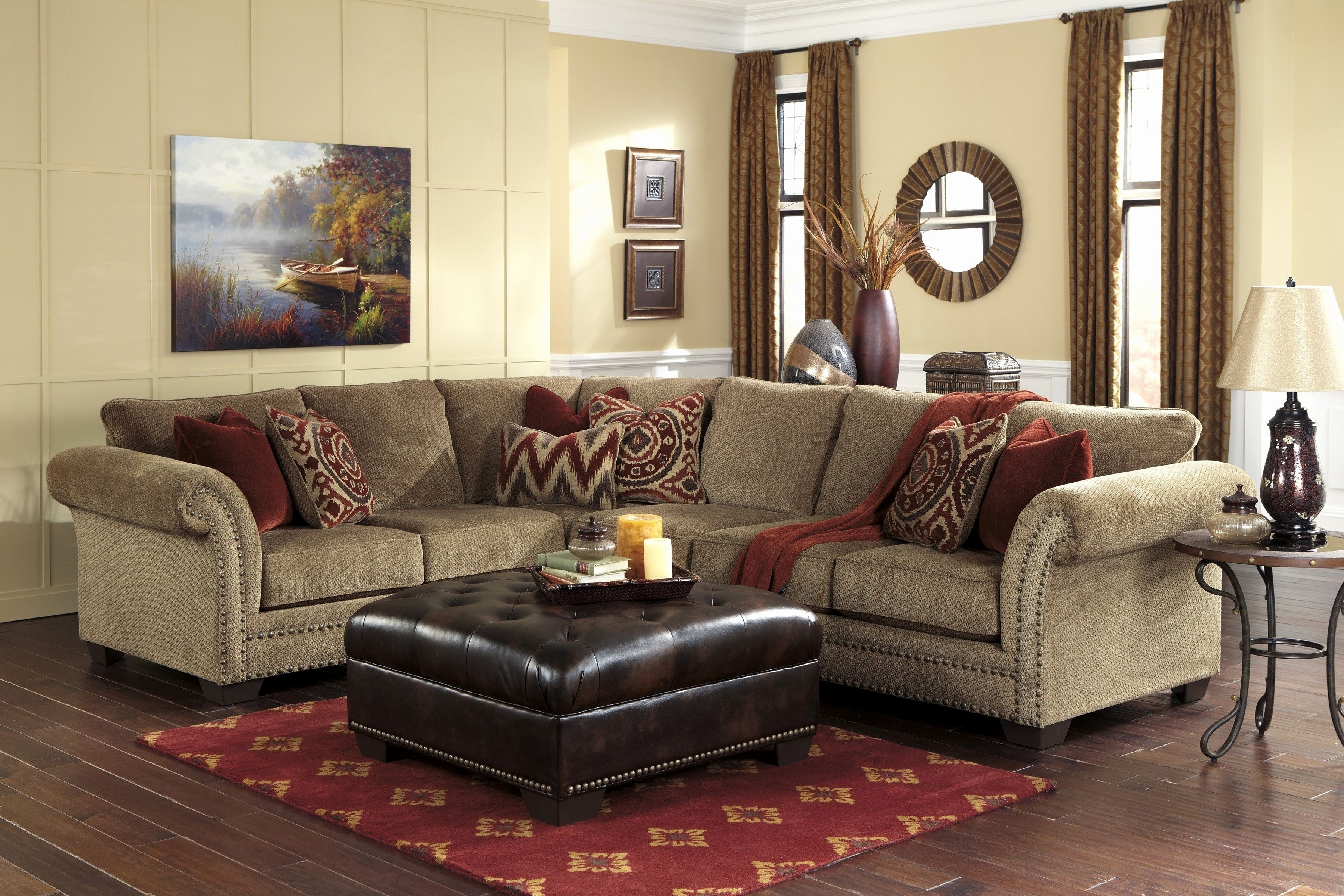 Sectional Sofas With Oversized Ottoman Pertaining To Latest Best Of Sectional Sofa With Oversized Ottoman Graphics 88 Creative (View 9 of 15)