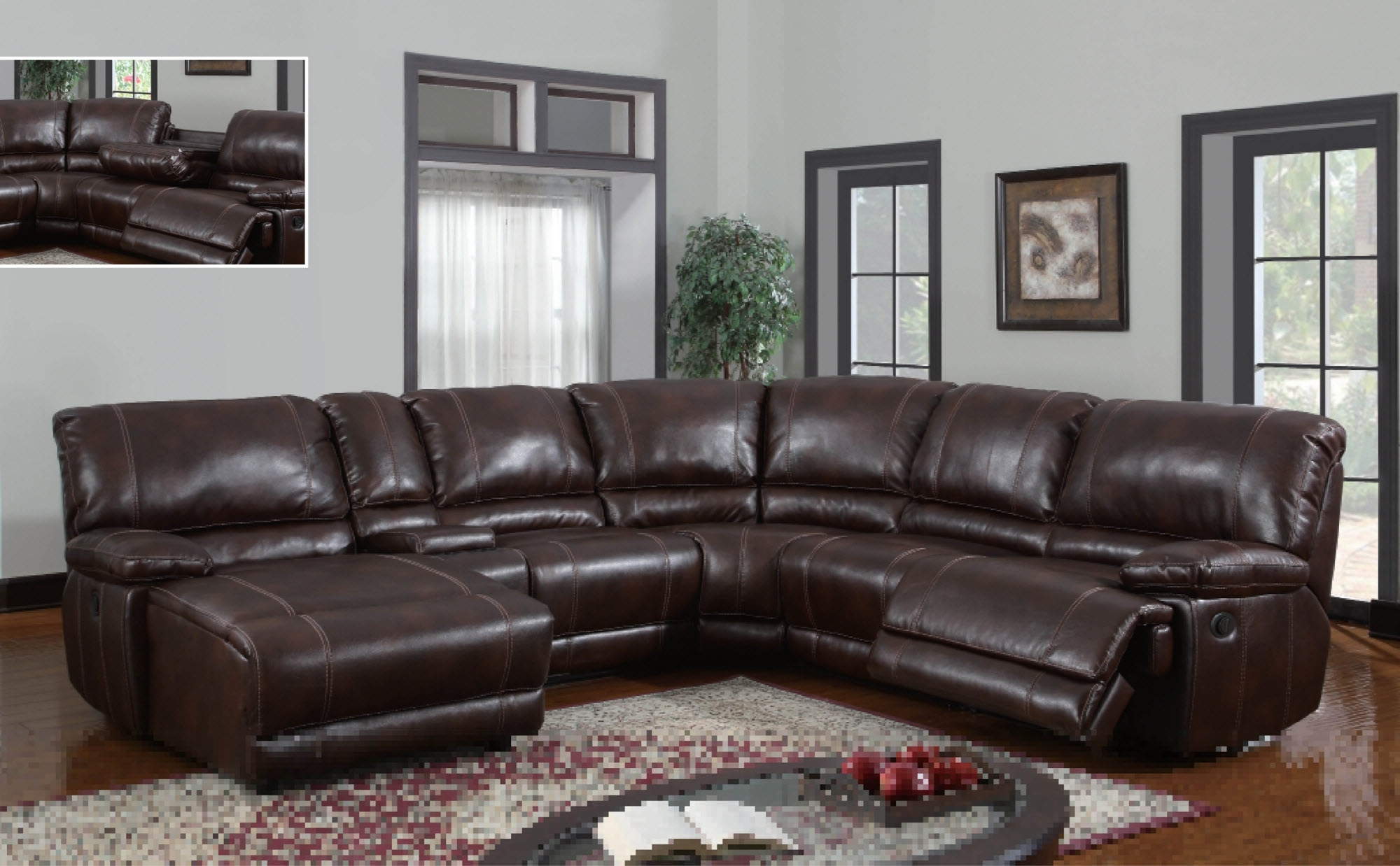 Sectional Sofas With Power Recliners regarding Famous Gray Power Reclining Sectional Power Recliner Leather Sectional